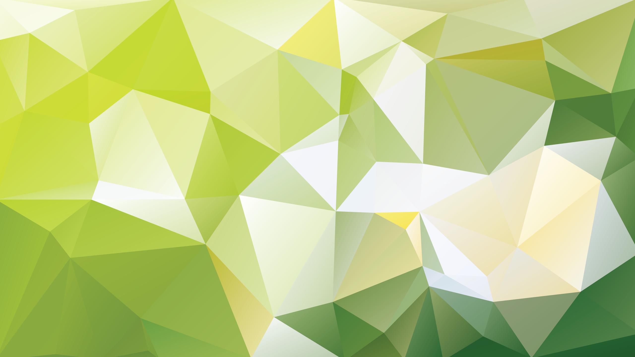 Wallpaper Illustration Symmetry Green Yellow Triangle Pattern