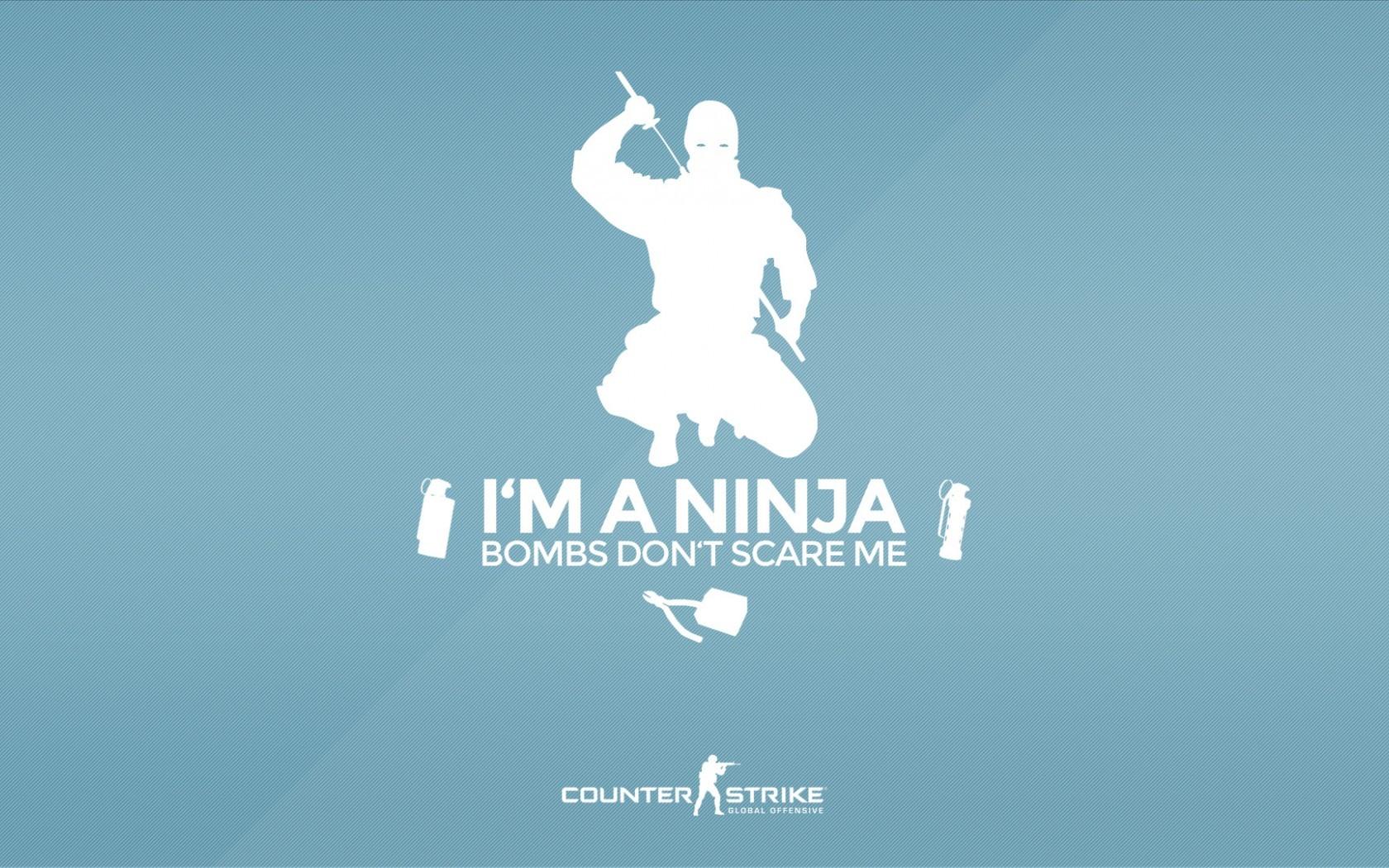 Illustration Text Logo Counter Strike Global Offensive Brand Ninja Defuse Advertising Presentation Font