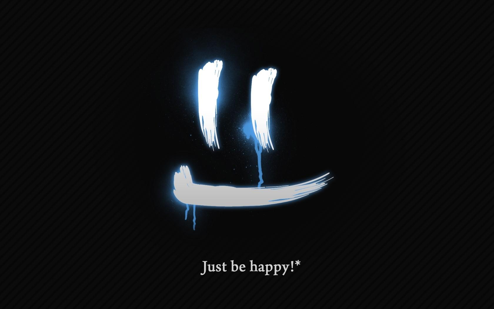 illustration text logo motivational circle brand happy face symbol computer wallpaper font