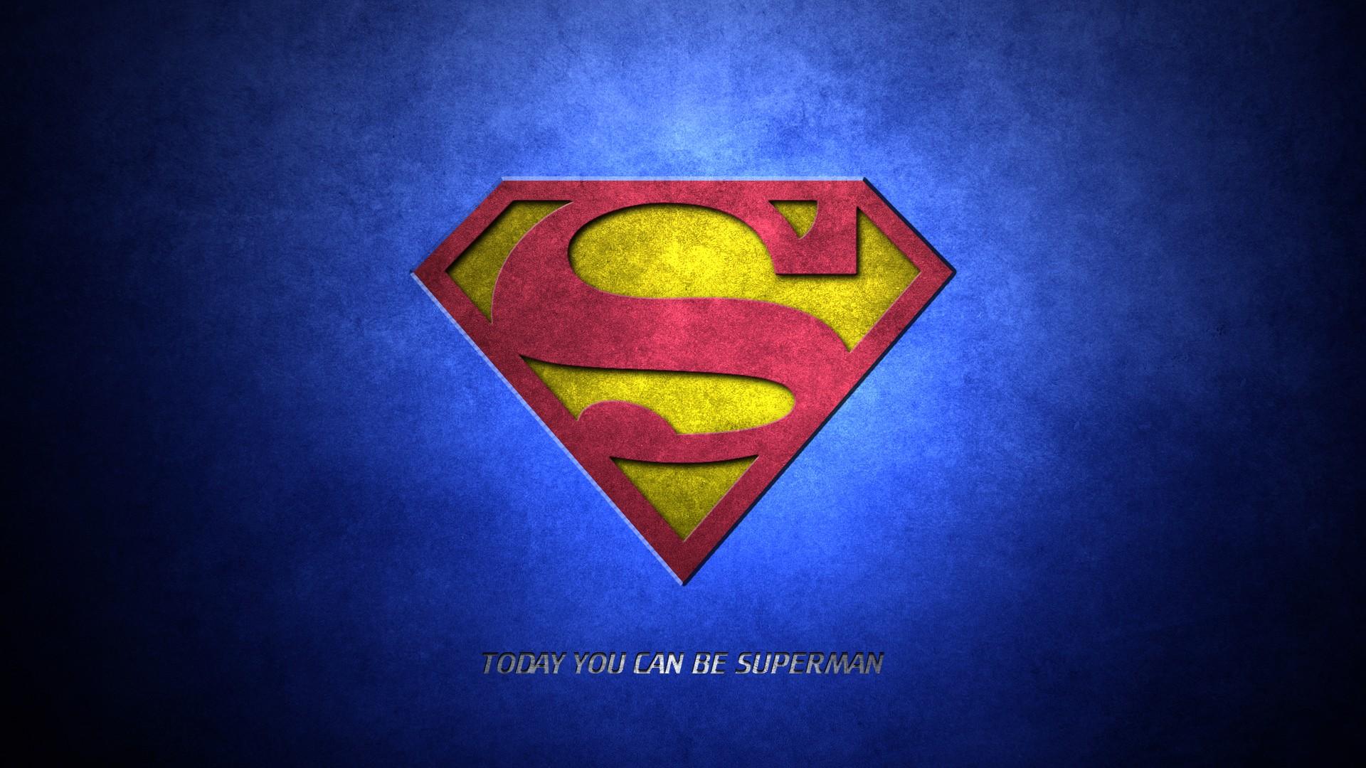 Wallpaper Illustration Text Logo Superhero Superman