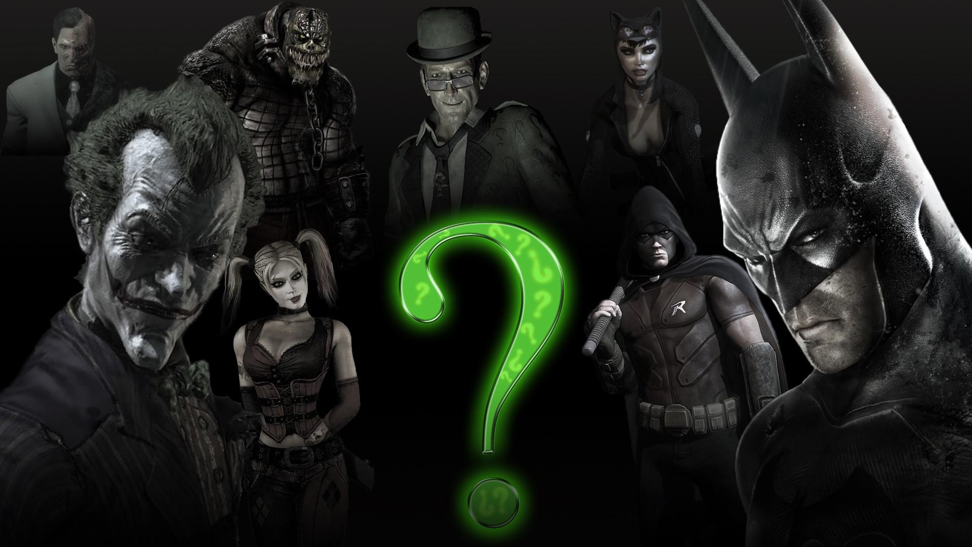 Wallpaper Illustration Video Games Batman Arkham City