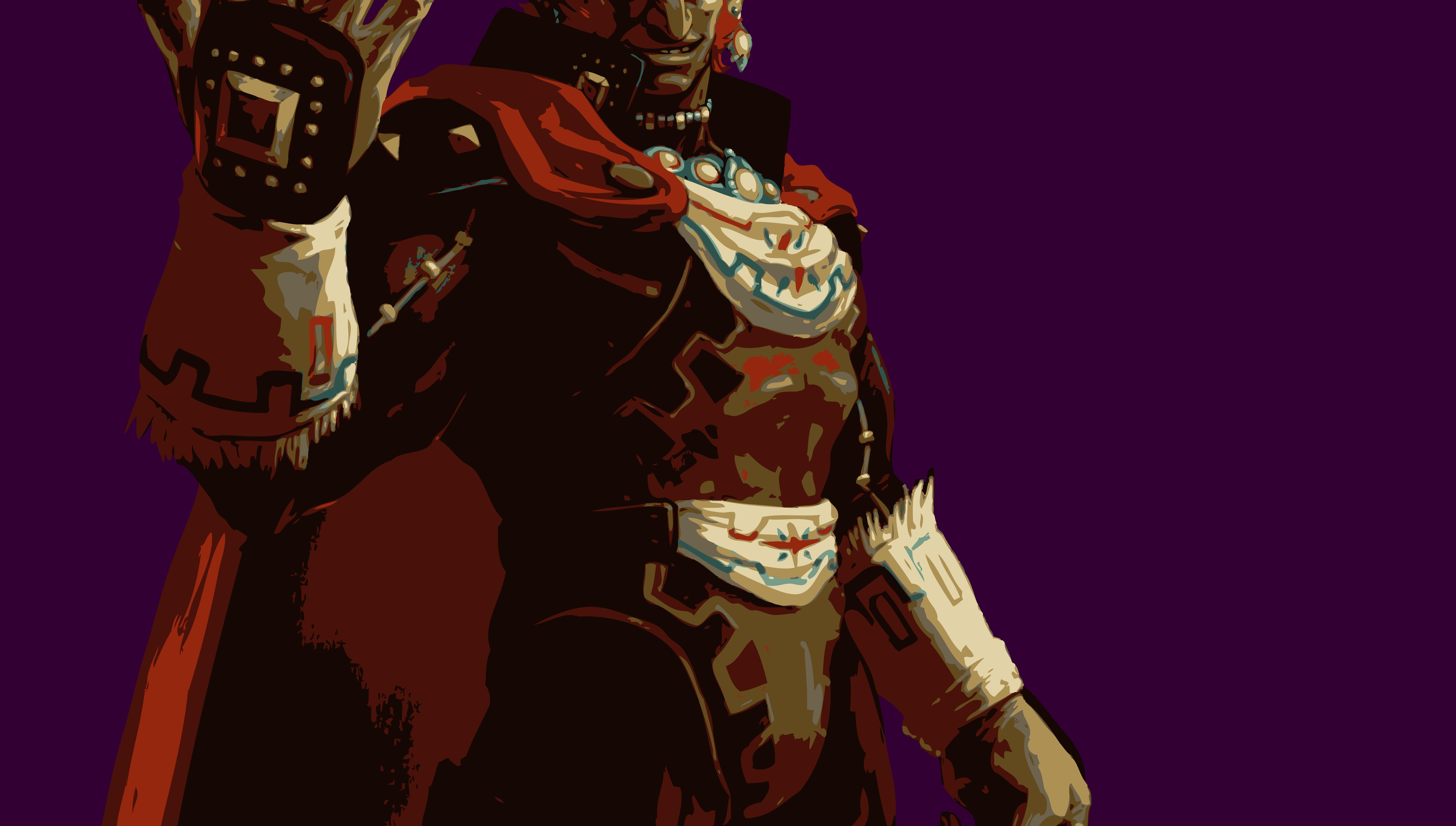 Illustration Video Games Person Ganondorf Screenshot Fictional Character Comic Book Profession