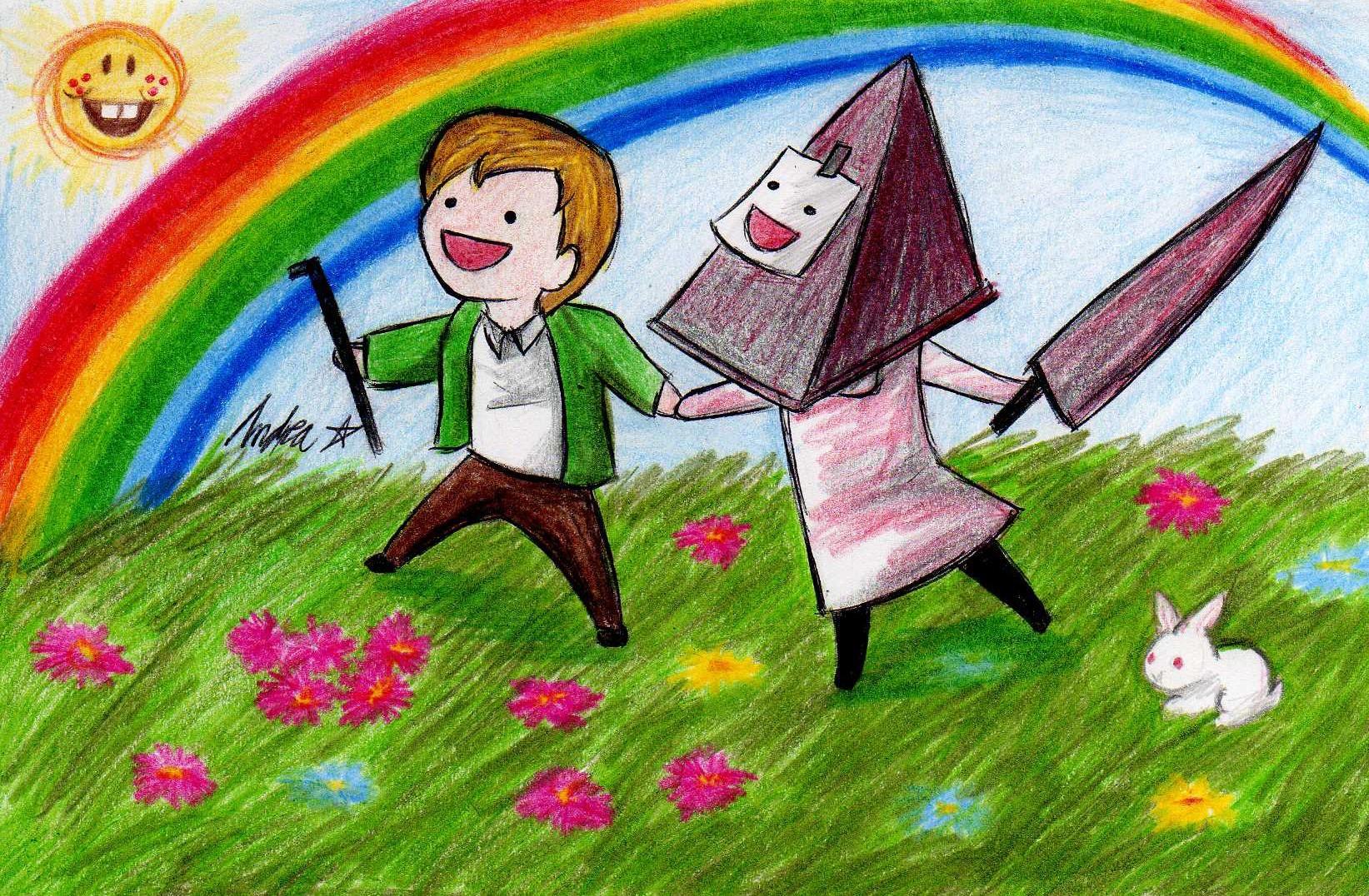 Wallpaper Illustration Video Games Silent Hill Pyramid Head