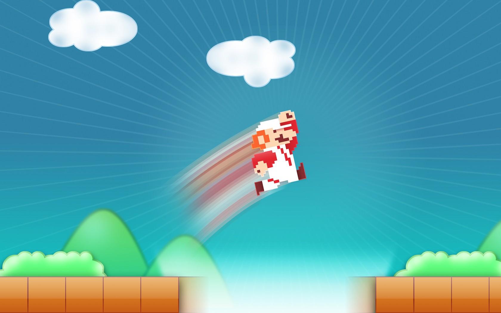 Hintergrundbilder : Illustration, Videospiele, Super Mario ...