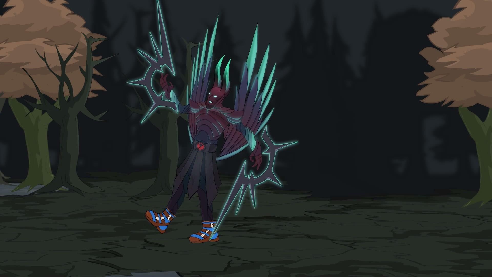Illustration Video Games Anime Dota 2 Terrorblade Screenshot Fictional Character