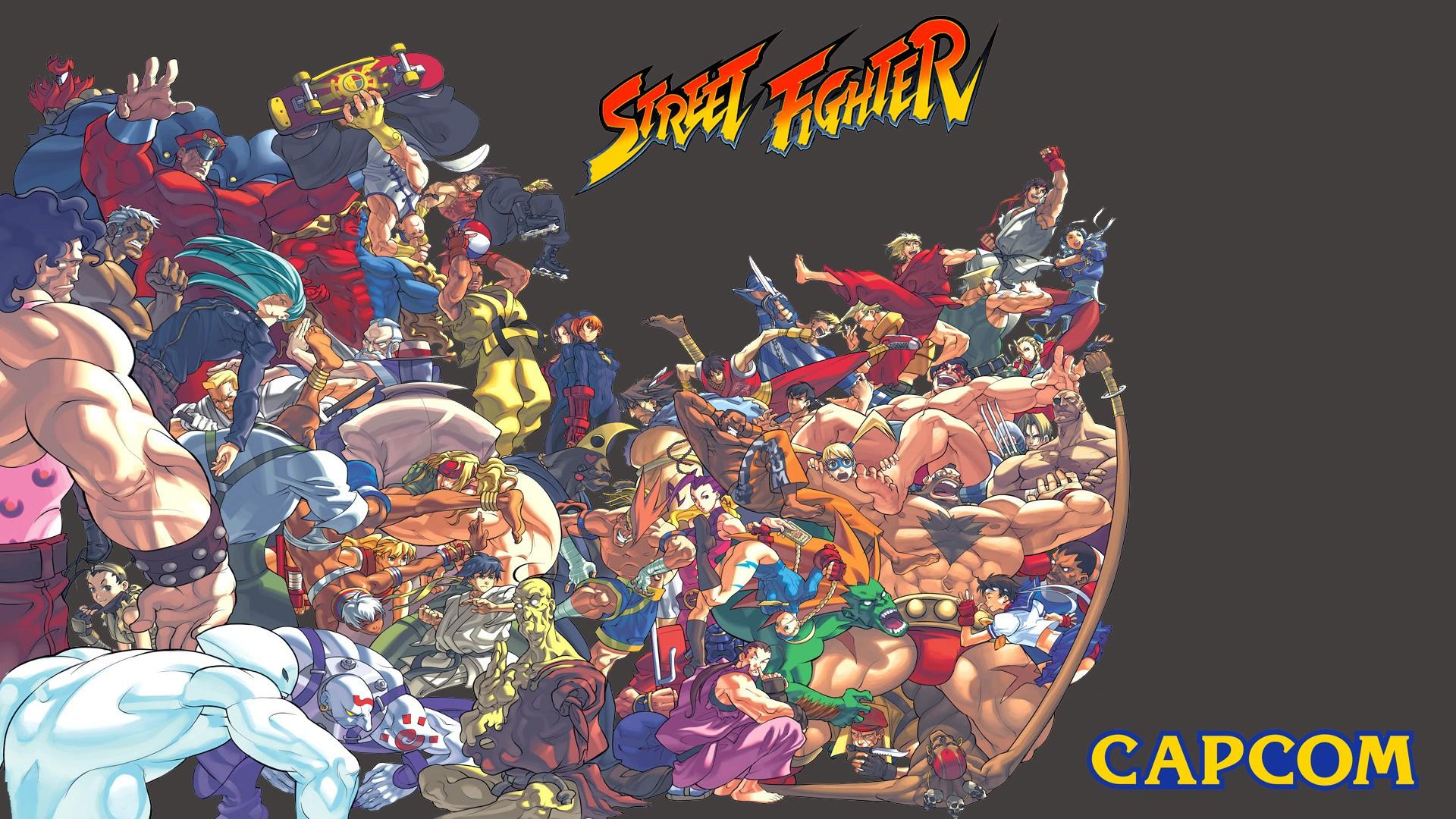 Wallpaper : ilustrasi, Video game, anime, petarung jalanan
