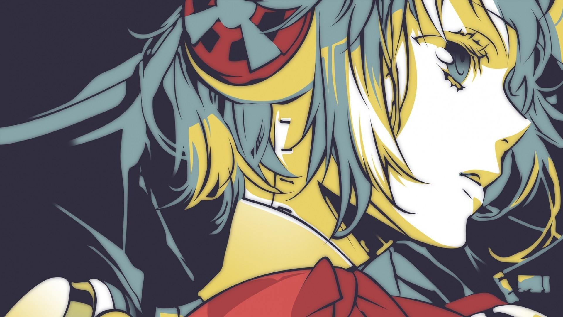 Wallpaper Illustration Video Games Anime Girls Manga