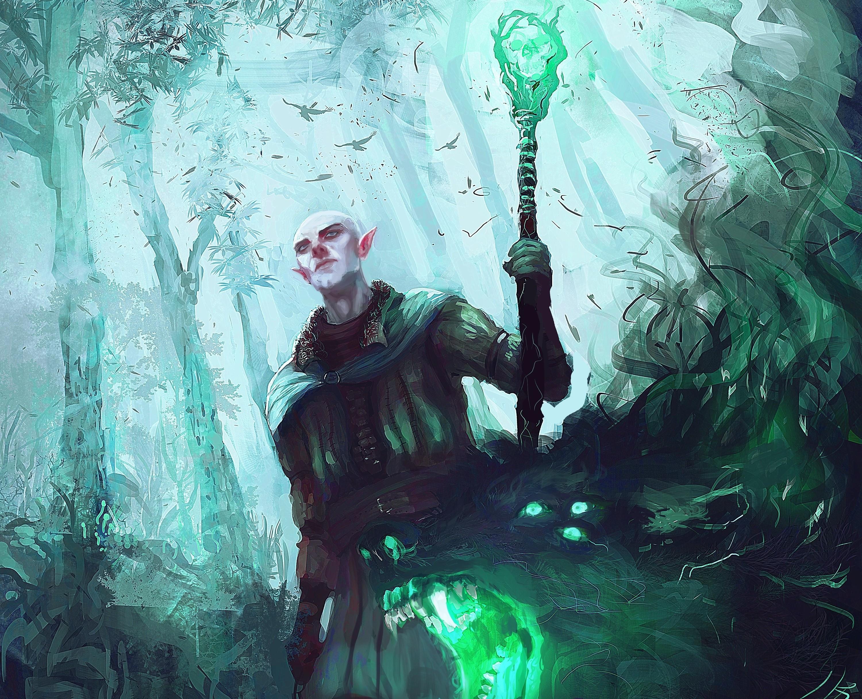 Wallpaper Illustration Video Games Artwork Dragon Age