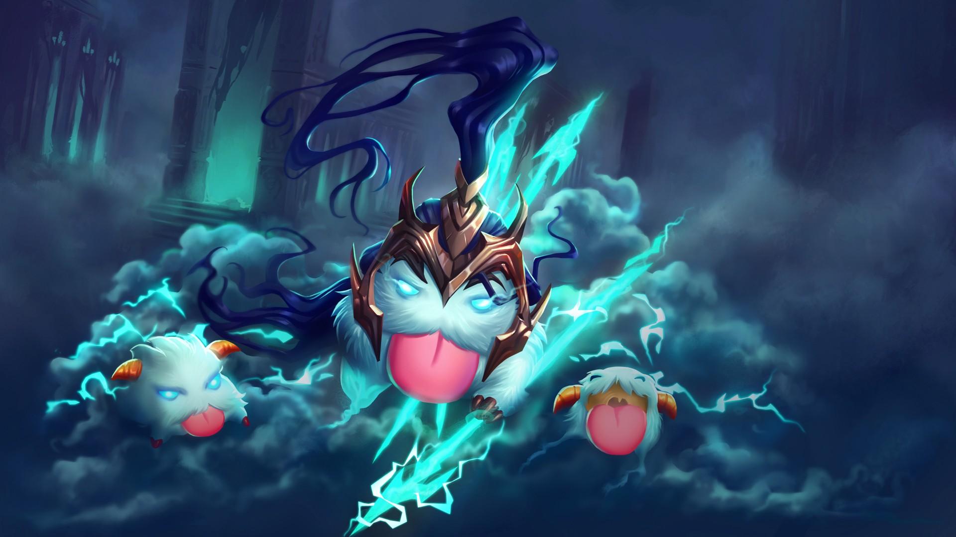 Illustration Video Games Fantasy Art Anime League Of Legends Poro Kalista Screenshot Mecha Computer Wallpaper