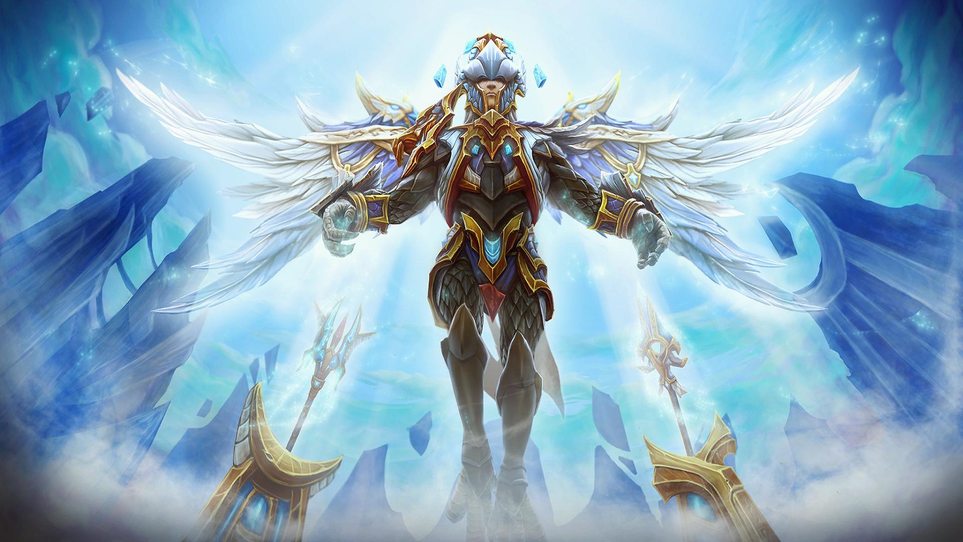 Illustration Video Games Fantasy Art Anime Angel Armor Hero Dota 2 Valve Mythology Corporation