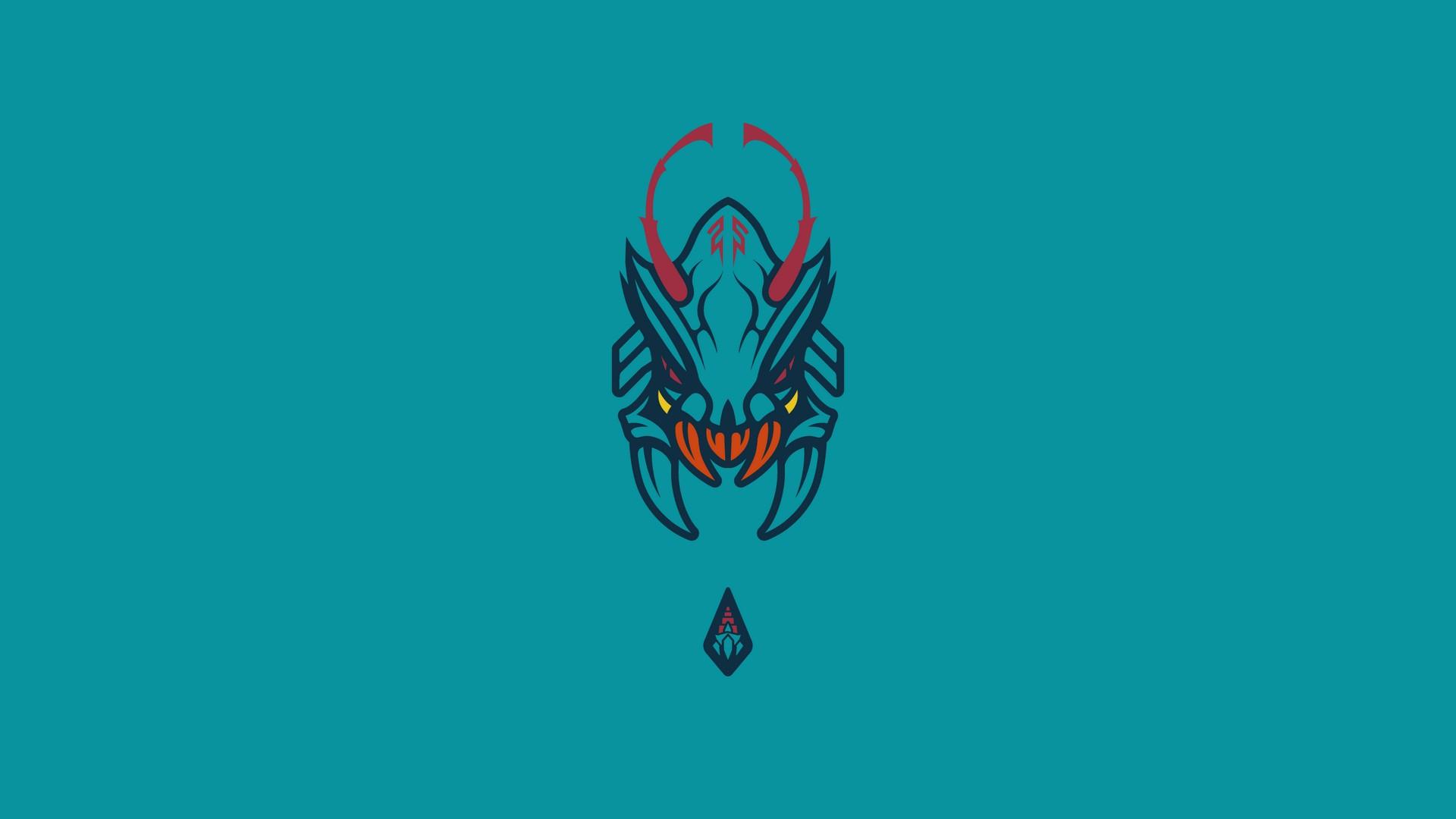 Wallpaper Illustration Video Games Minimalism Text Logo