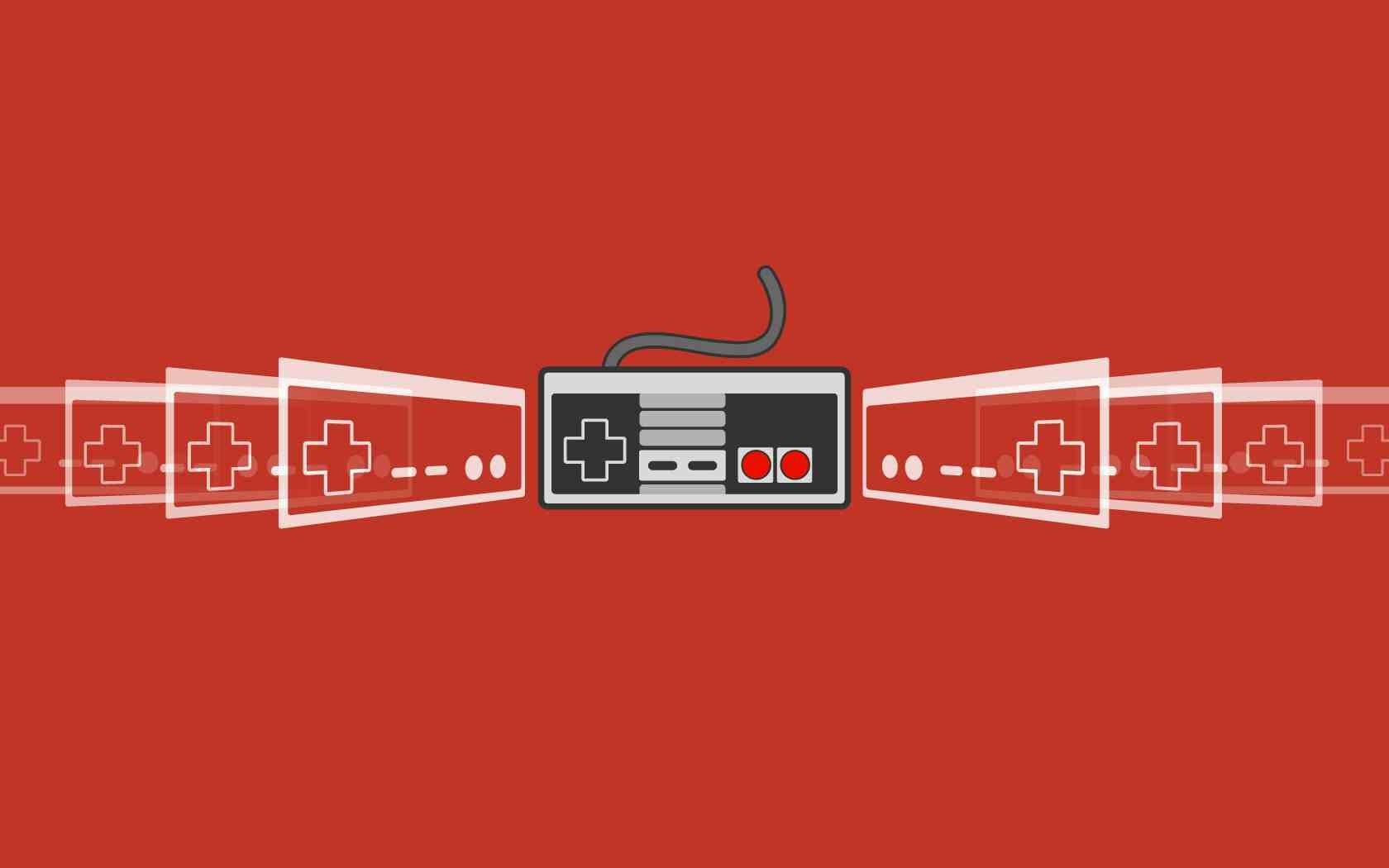 ilustração videogames minimalismo texto logotipo Controladores Jogos retro  Marca Sistema de Entretenimento Nintendo Fonte diagrama