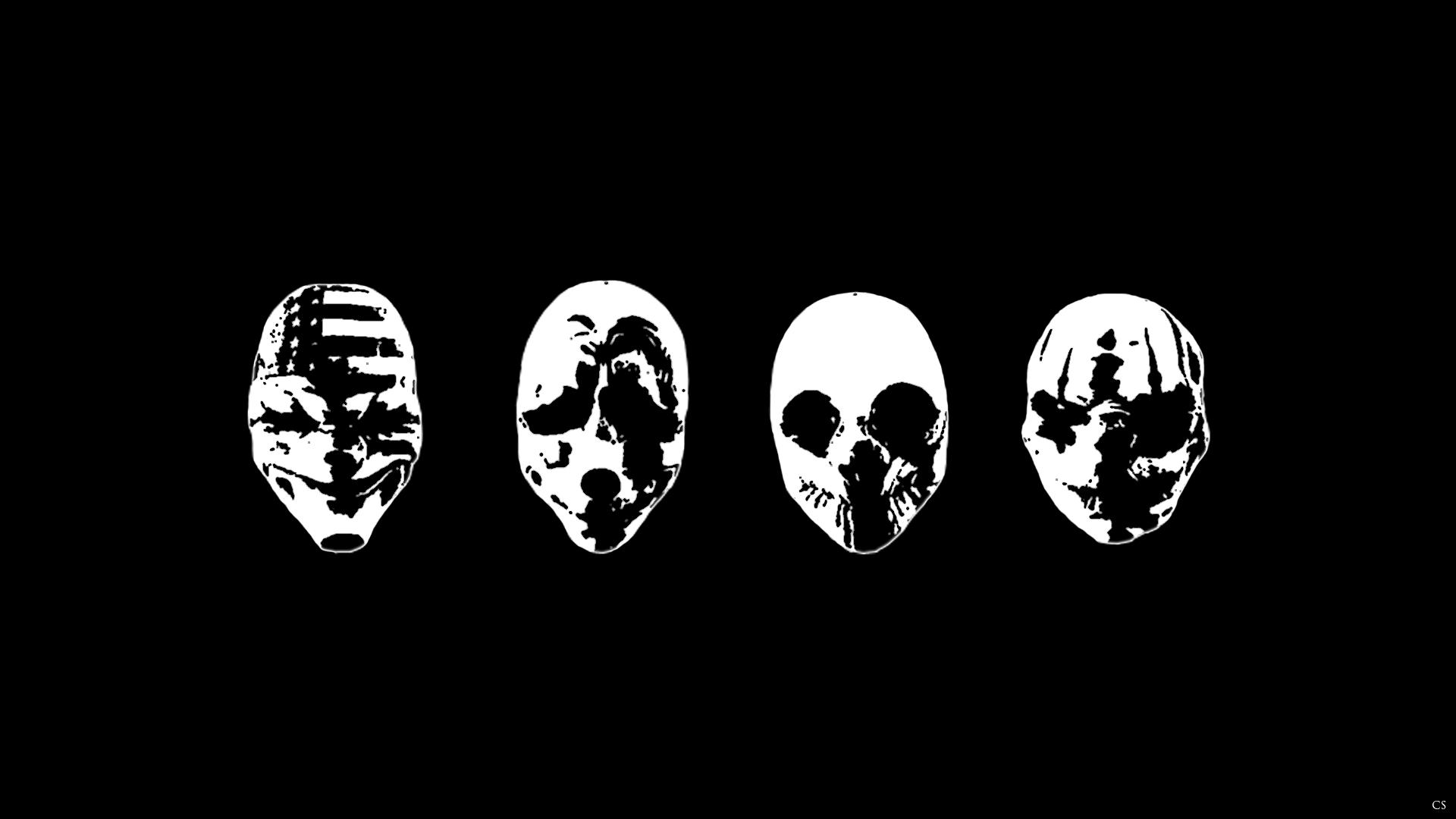 Wallpaper : illustration, video games, mask, text, logo, PC gaming