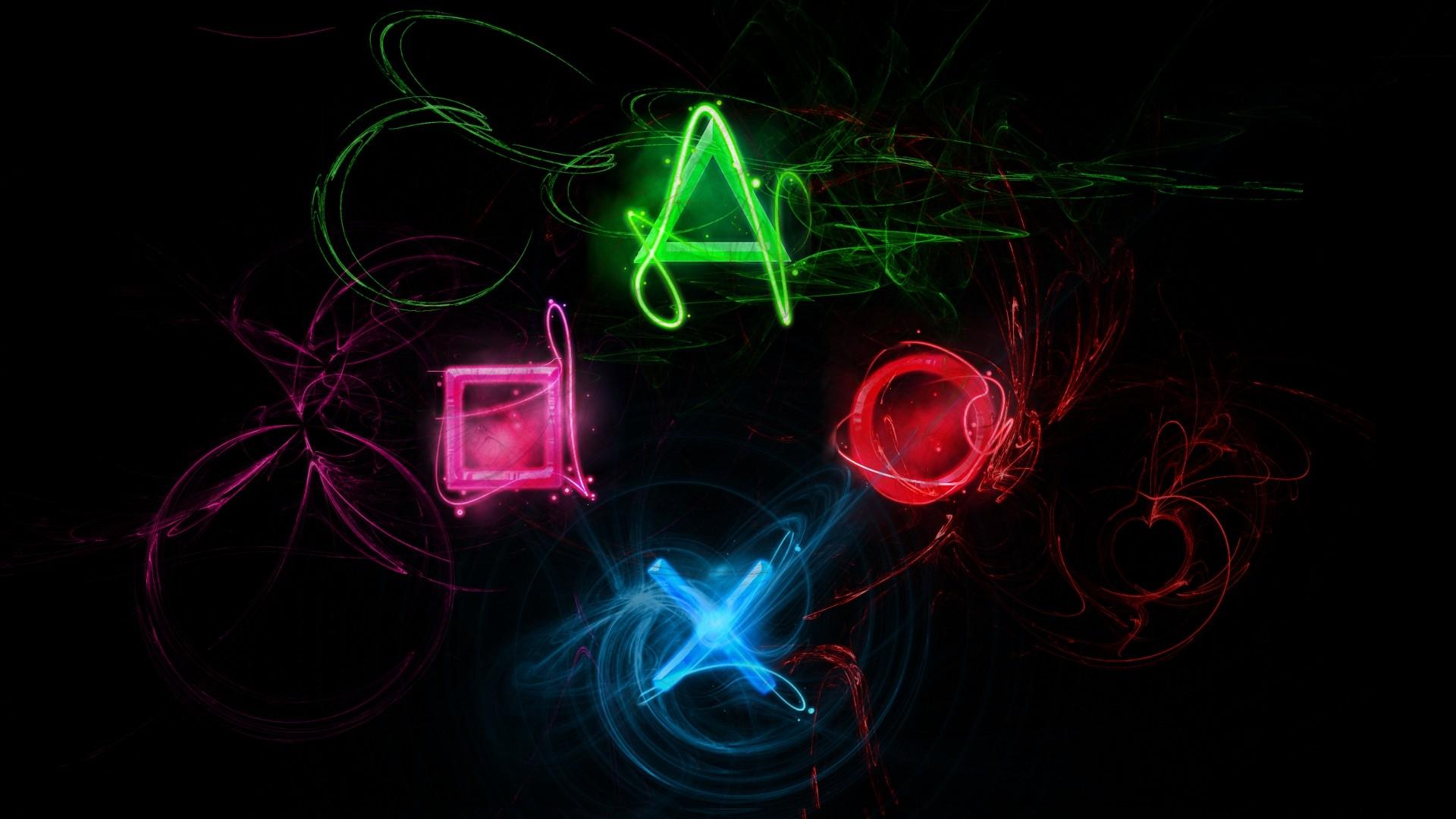 図 ビデオゲーム ネオン ソニー サークル プレイステーション 光 形状 ライン 火炎 闇 数 スクリーンショット コンピュータ