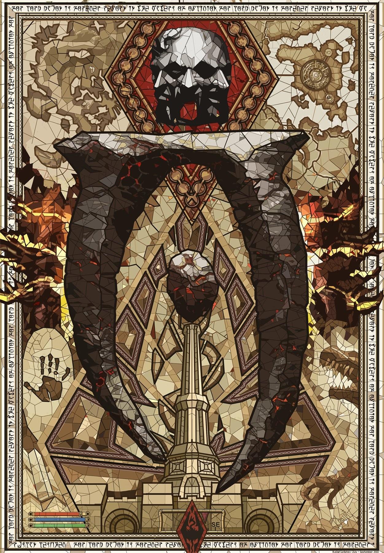 video games, poster, The Elder Scrolls