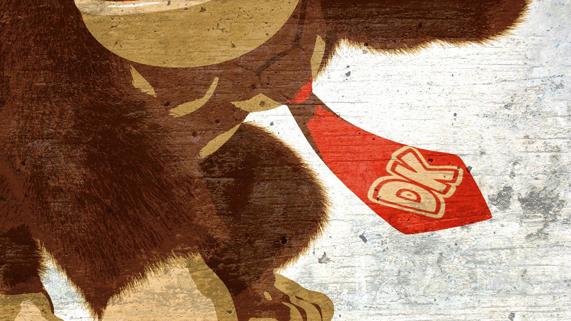 Fondos De Pantalla Ilustración Videojuegos Rojo Donkey