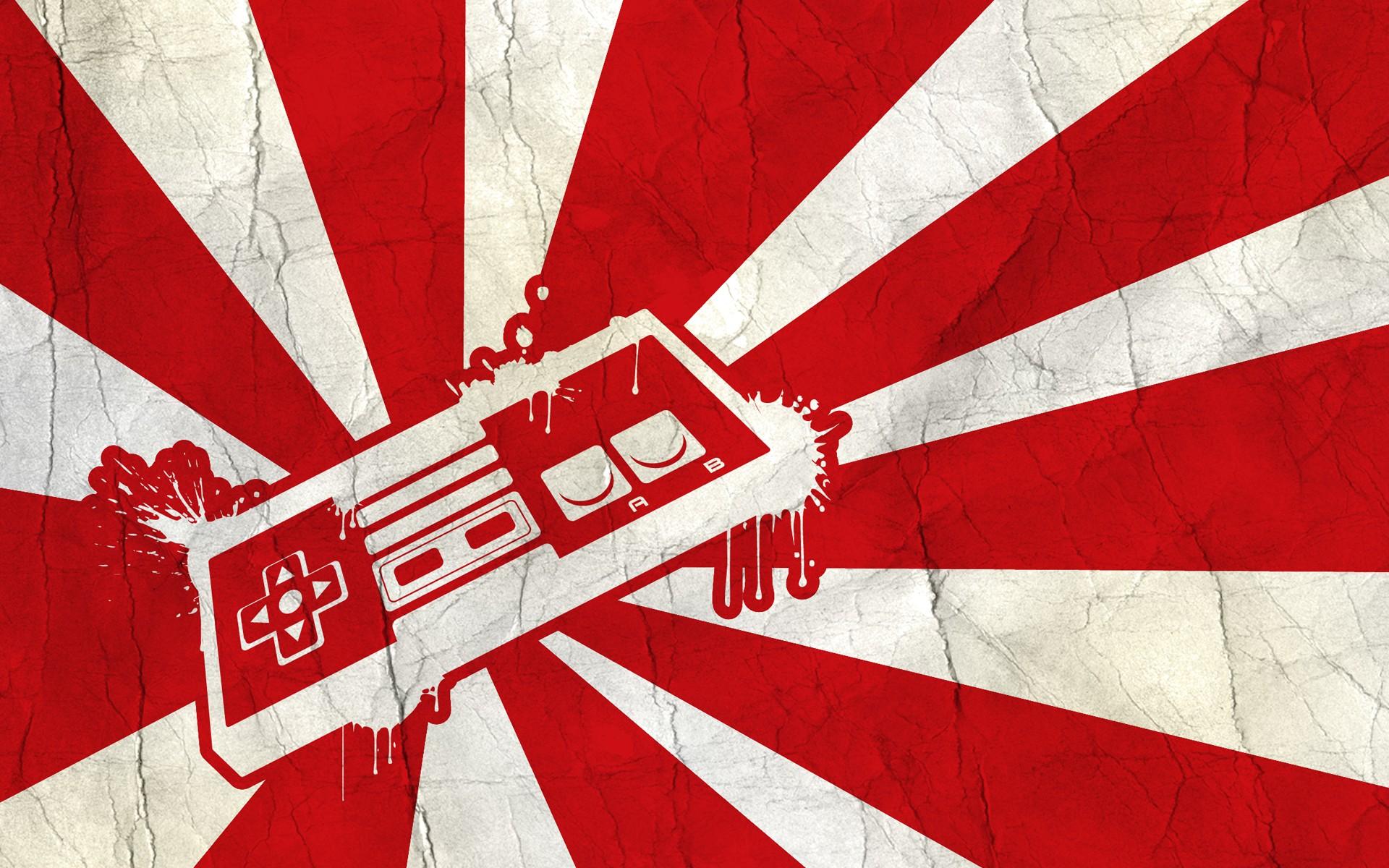 Fondos De Pantalla Ilustración Videojuegos Rojo Simetría