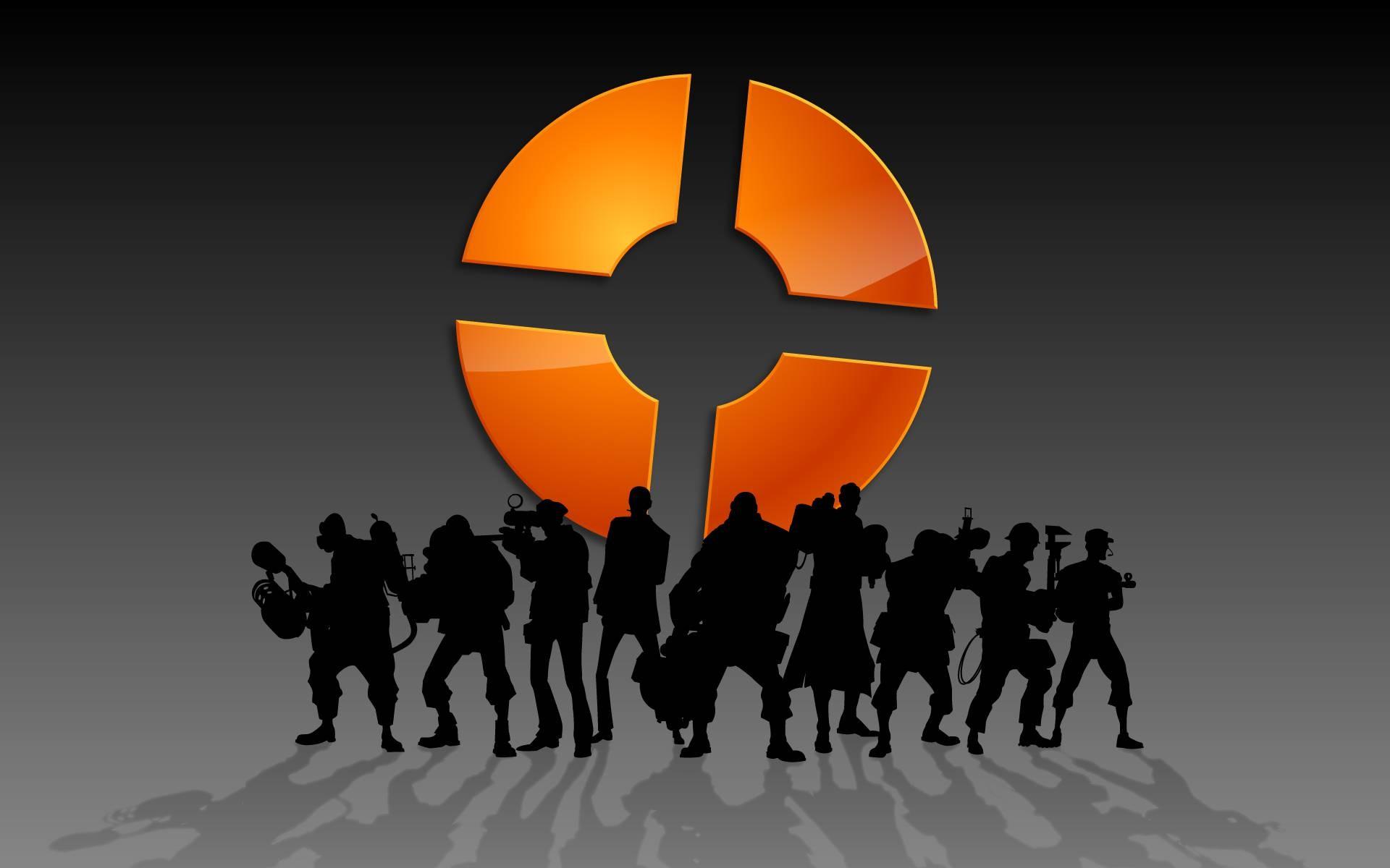 Wallpaper Illustration Video Games Silhouette Logo Team