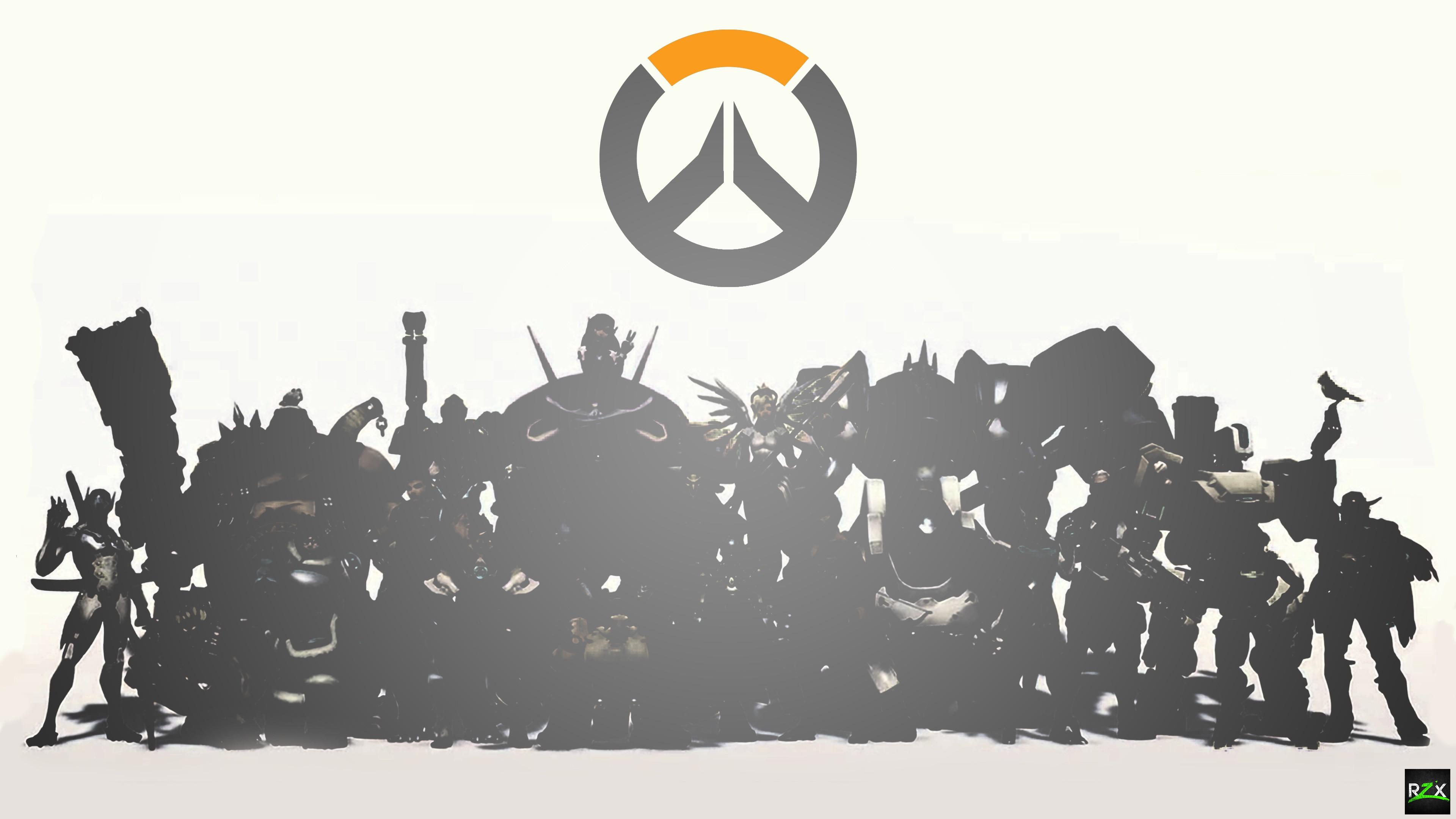 Wallpaper Illustration Video Games Silhouette Logo