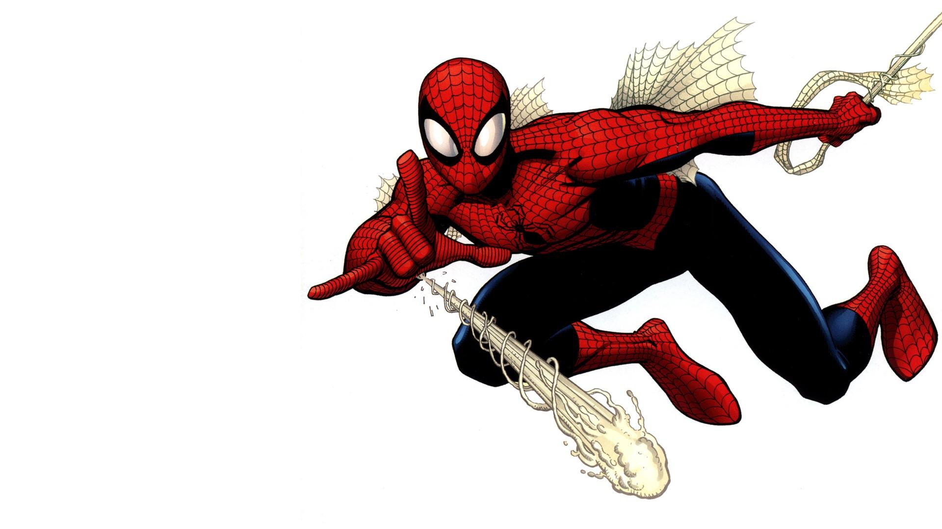 Картинки персонажа человек паук