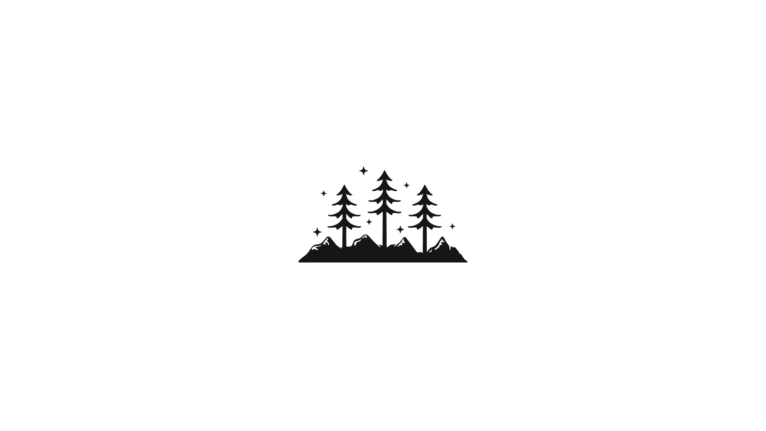 Minimalist Pine Tree: Fondos De Pantalla : Ilustración, Fondo Blanco, Pinos