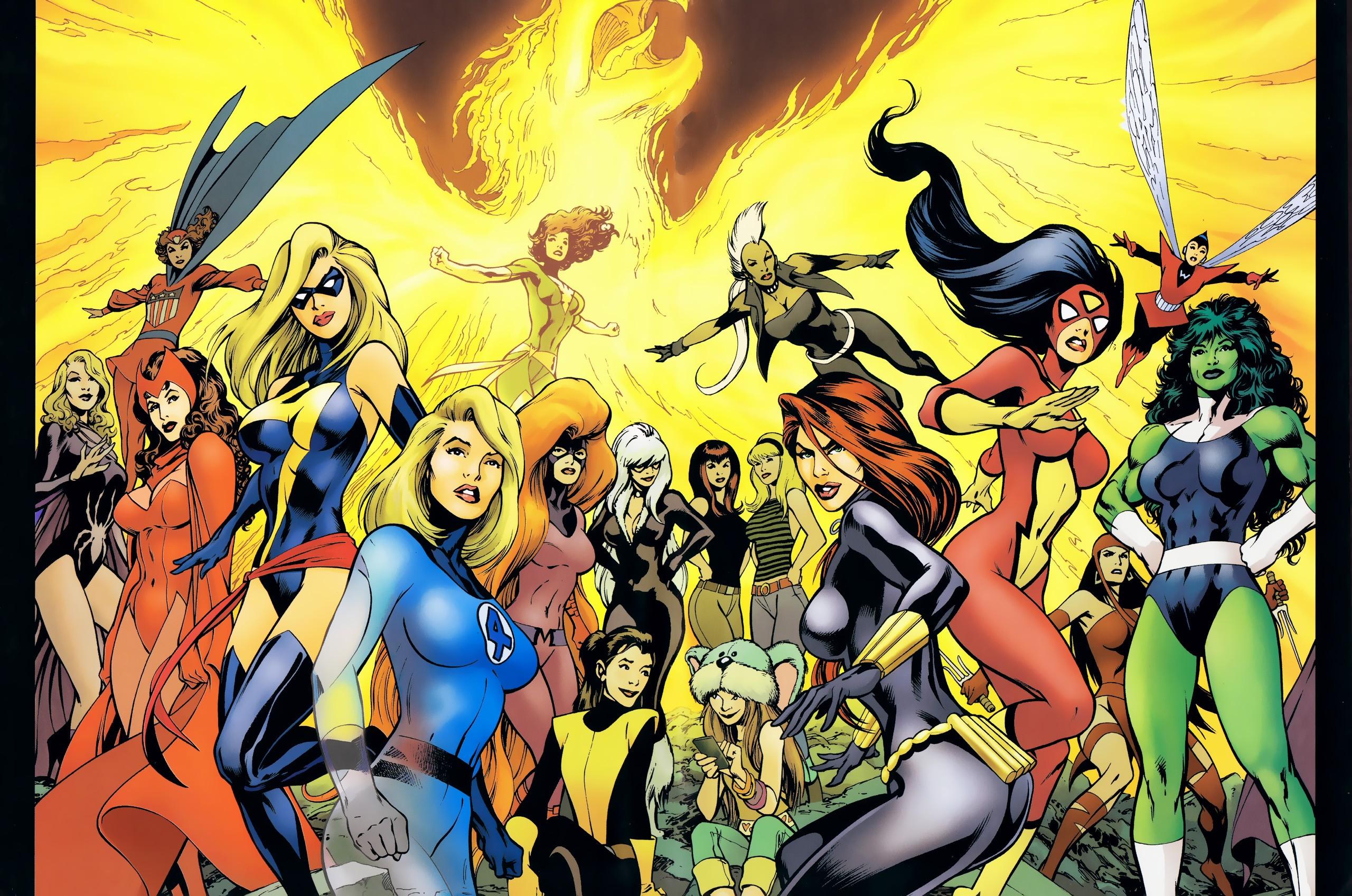marvel-girls