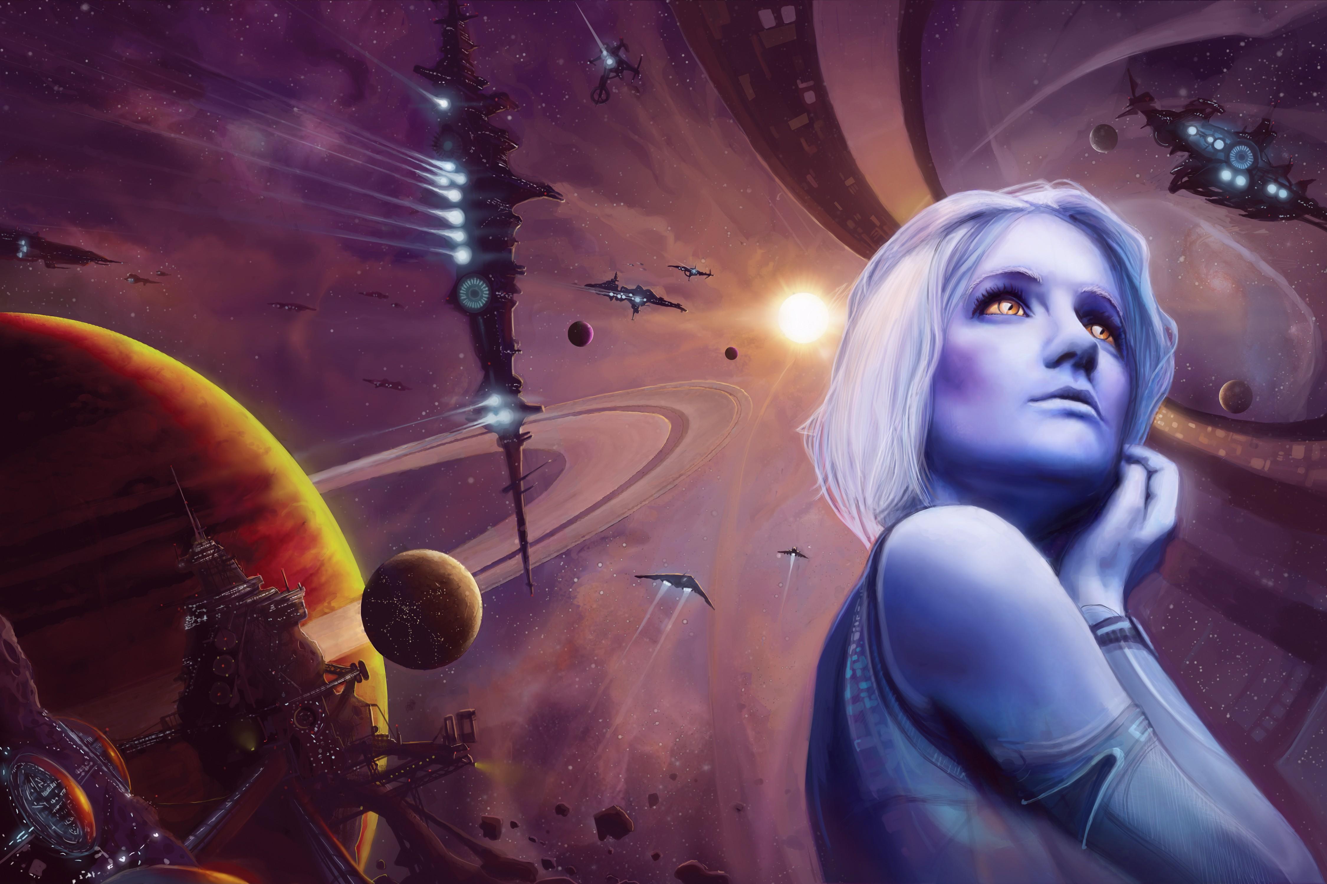 рисунки фото фантастика космос этой статье