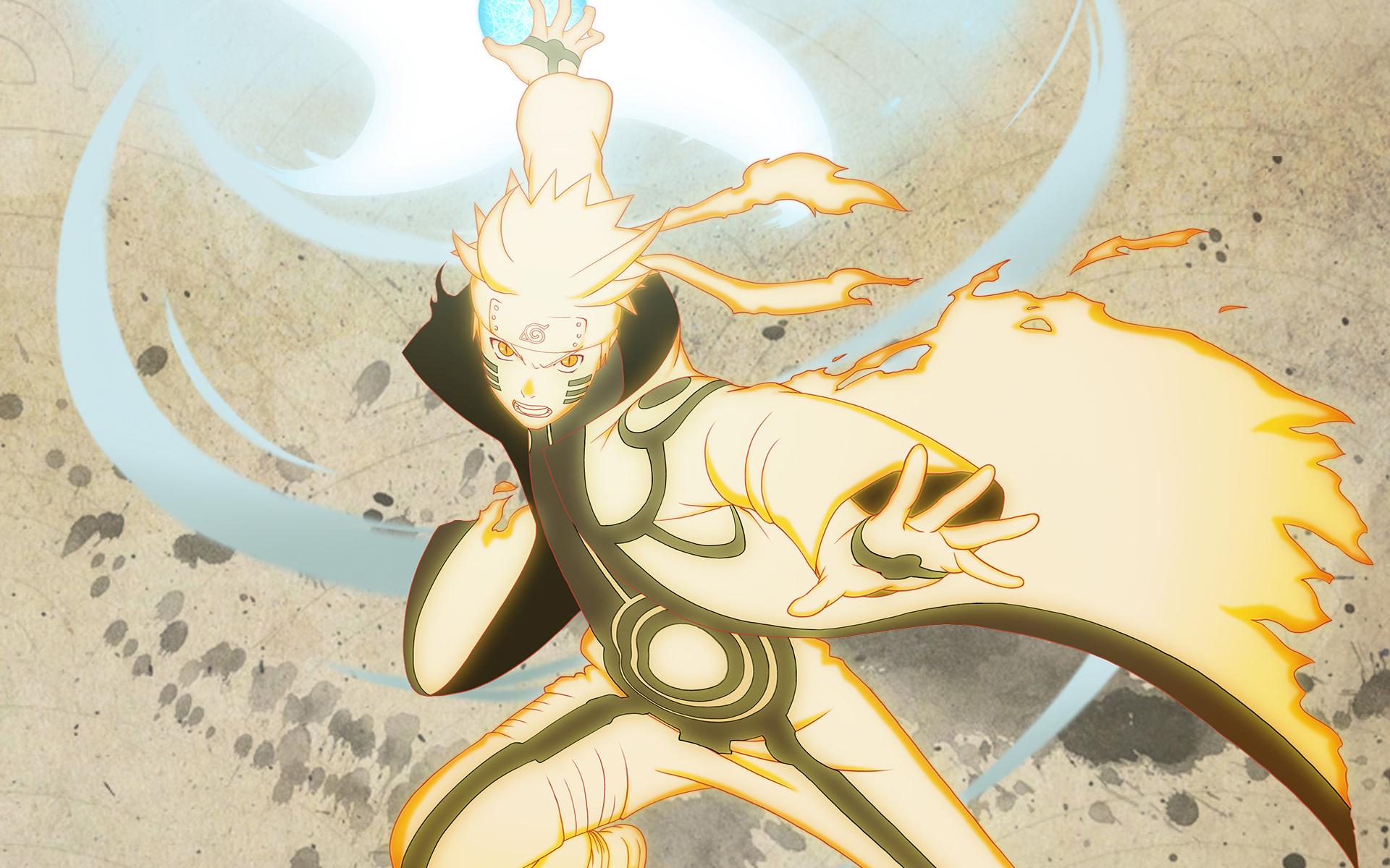 Wallpaper Illustration Yellow Art Naruto Shippuden Ultimate