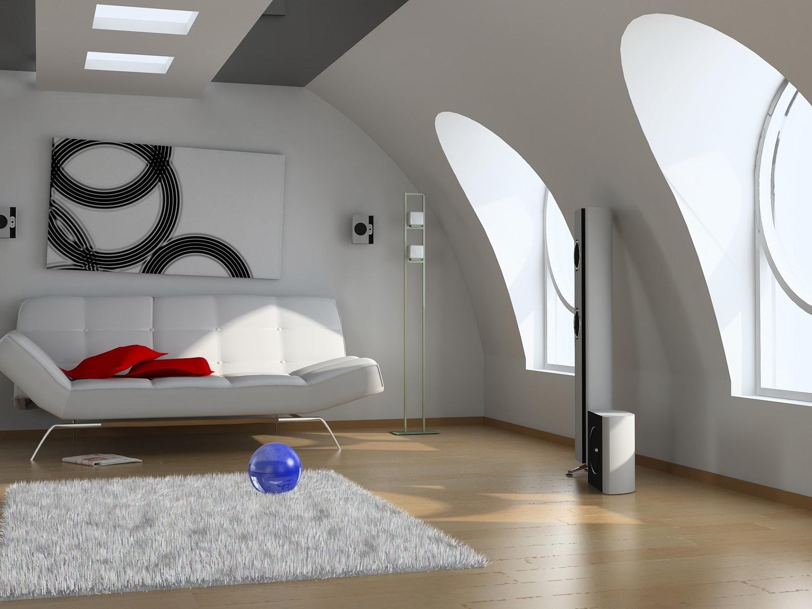 Masaüstü Iç Düz Ev Yaratıcı Beyaz 1600x1200 Wallpaperup