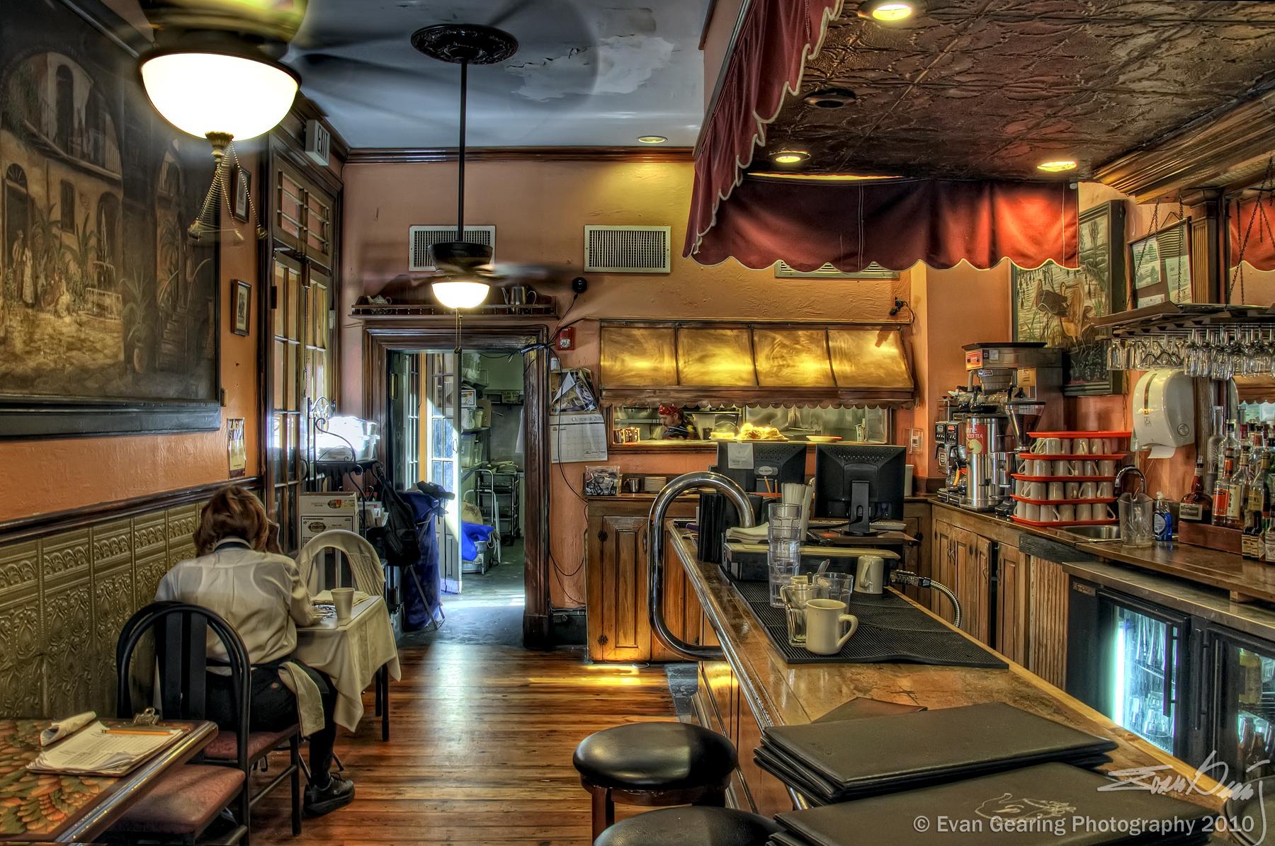 Papel de parede cozinha barra restaurante bar design