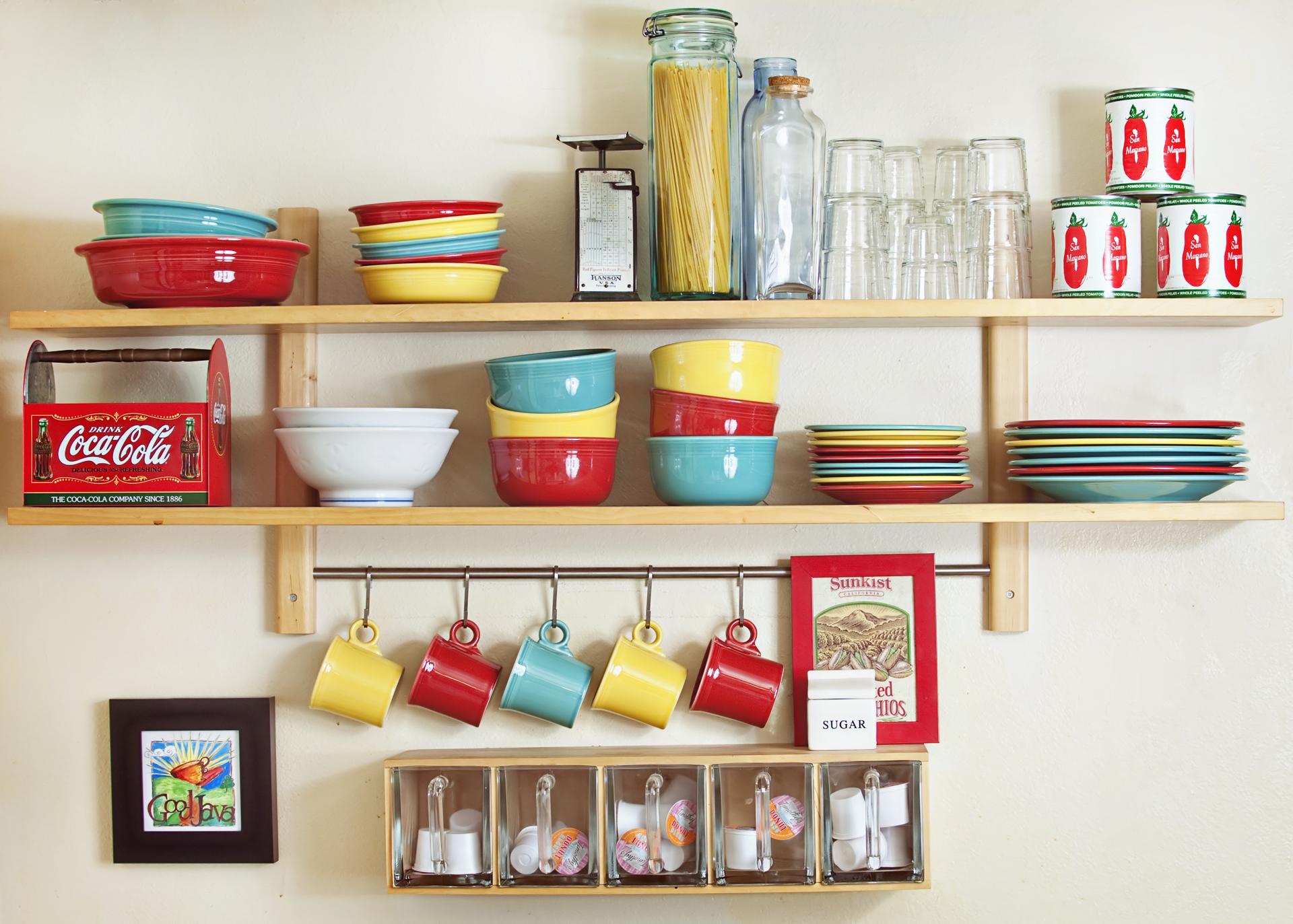 Masaüstü Mutfak Raf Raflar Ikea Yemekler Renk