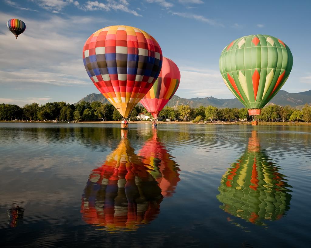 Картинки с воздухоплавательными шарами изысканным роскошным