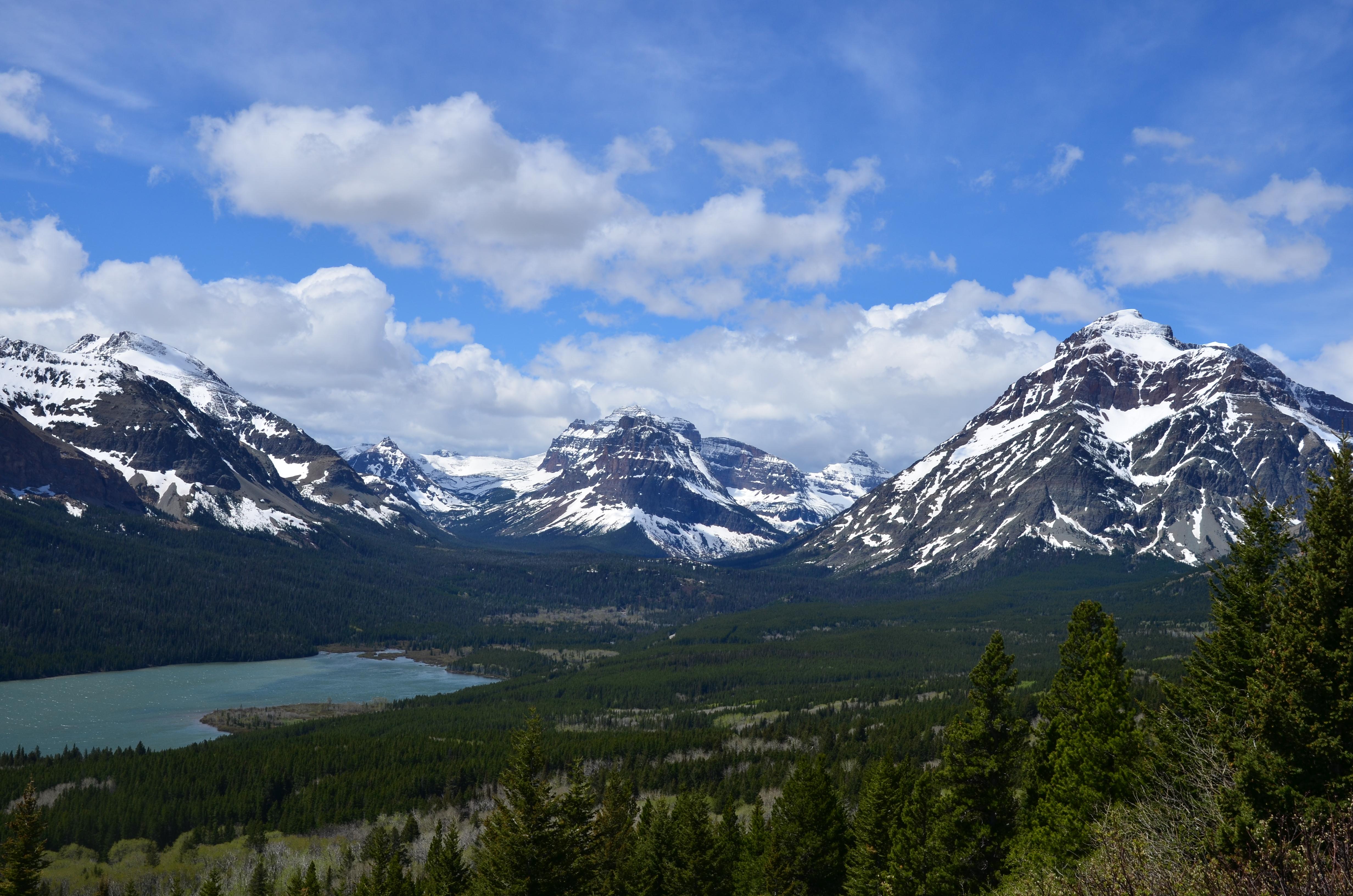 Fondo De Pantalla Paisaje Montañas Nevada: Fondos De Pantalla : Lago, Montañas, Naturaleza, Paisaje