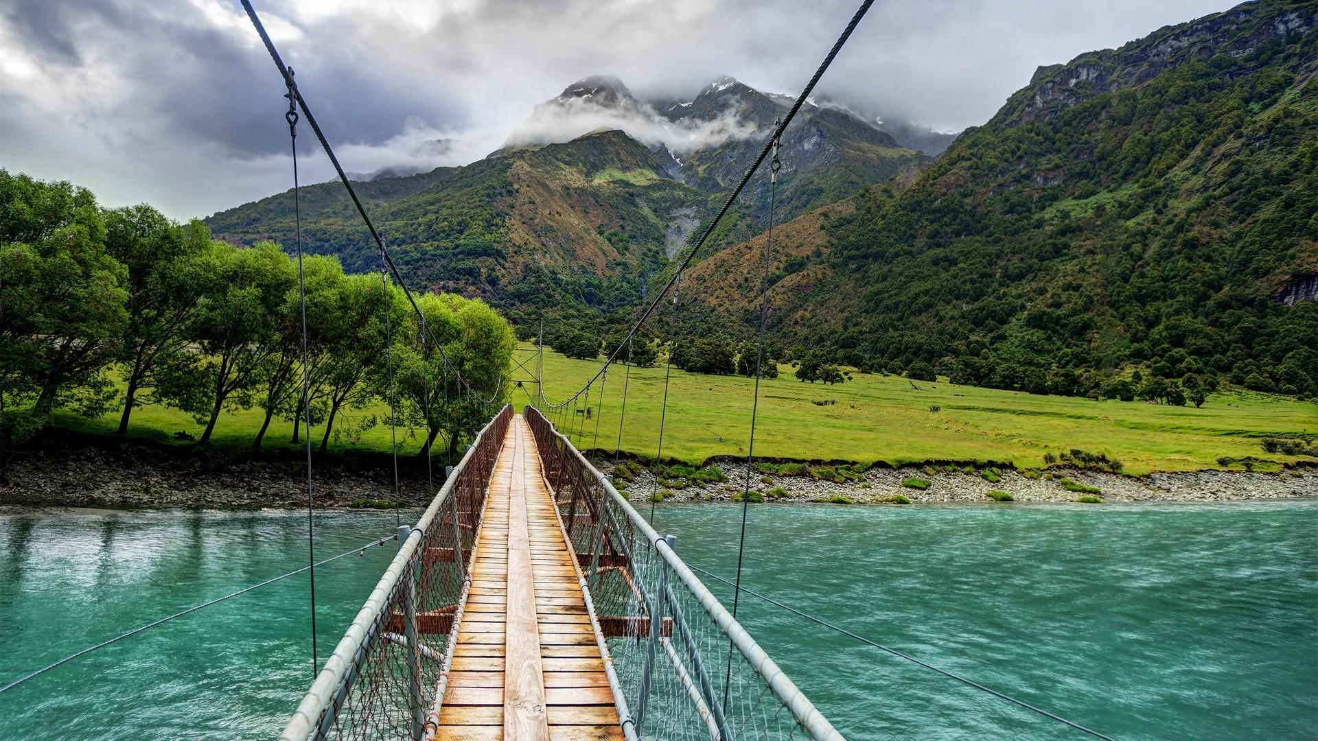 ошибиться выбором подвесные мосты в горах фото основу