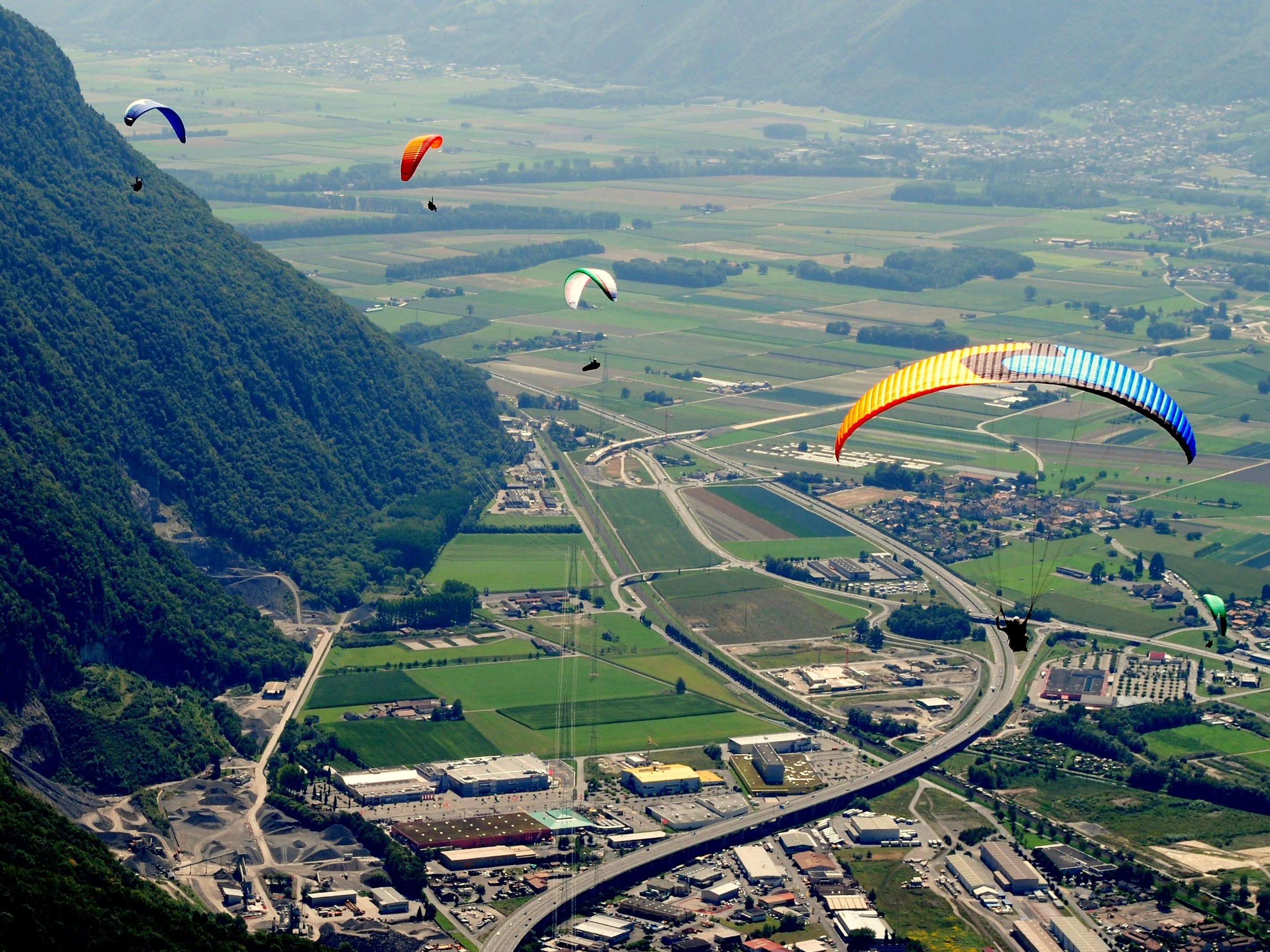 Wallpaper : lake, sky, Tourism, flying, Switzerland, bird's