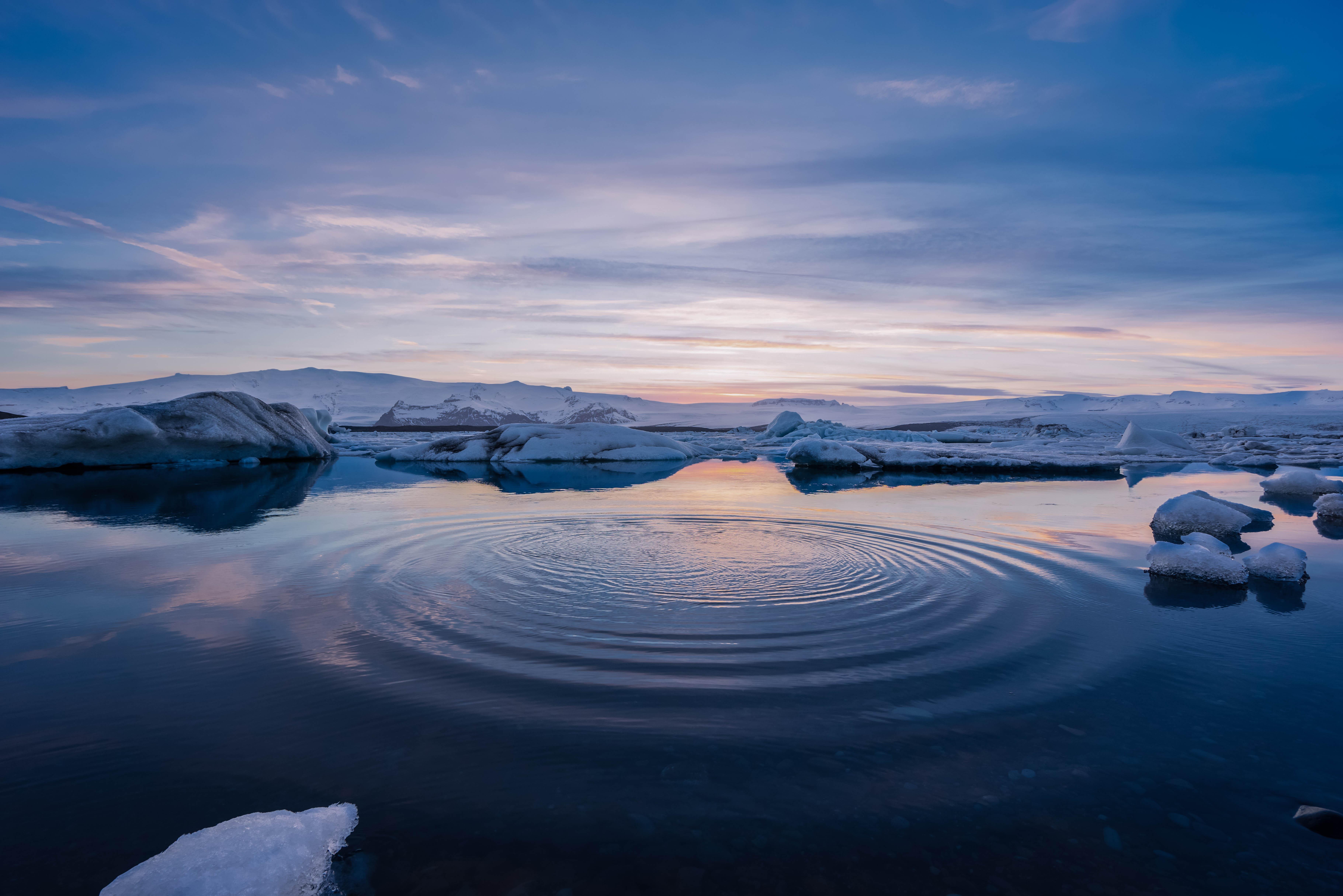 Hintergrundbilder : Land, Scape, Eis, Wasser, Sonnenuntergang, Sonne ...