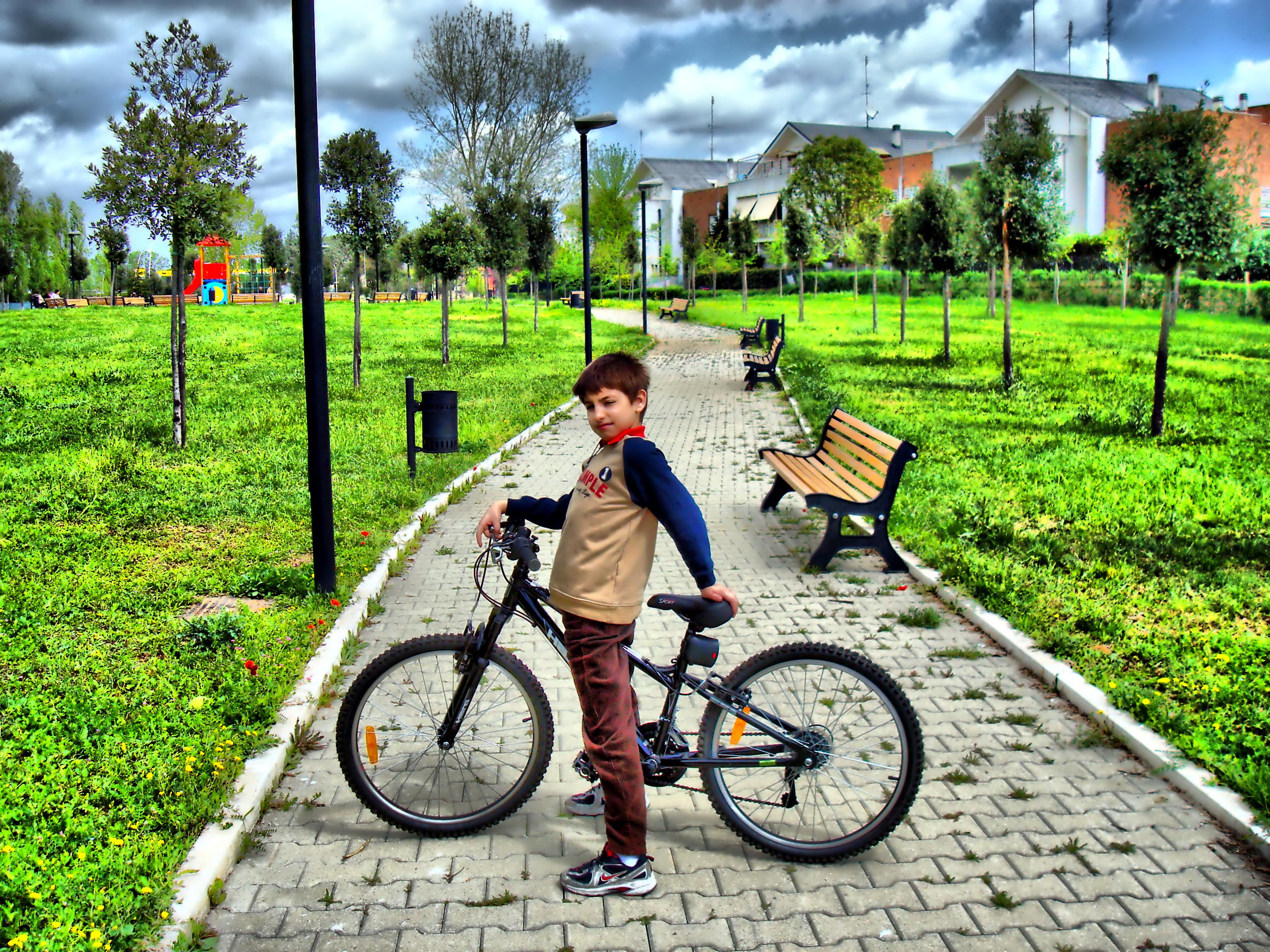 papel de parede panorama itália grama parque veículo obra de