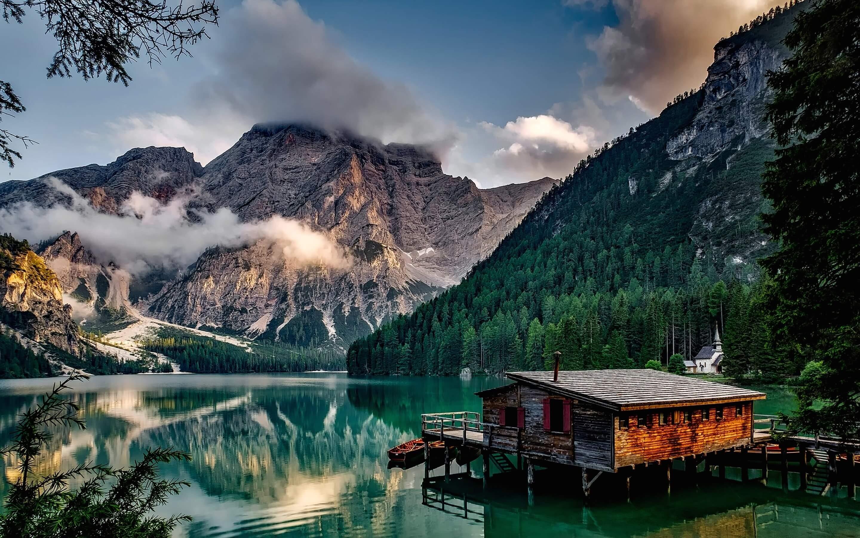 Sfondi Paesaggio Italia Lago Riflessione Mattina Fiordo Lago