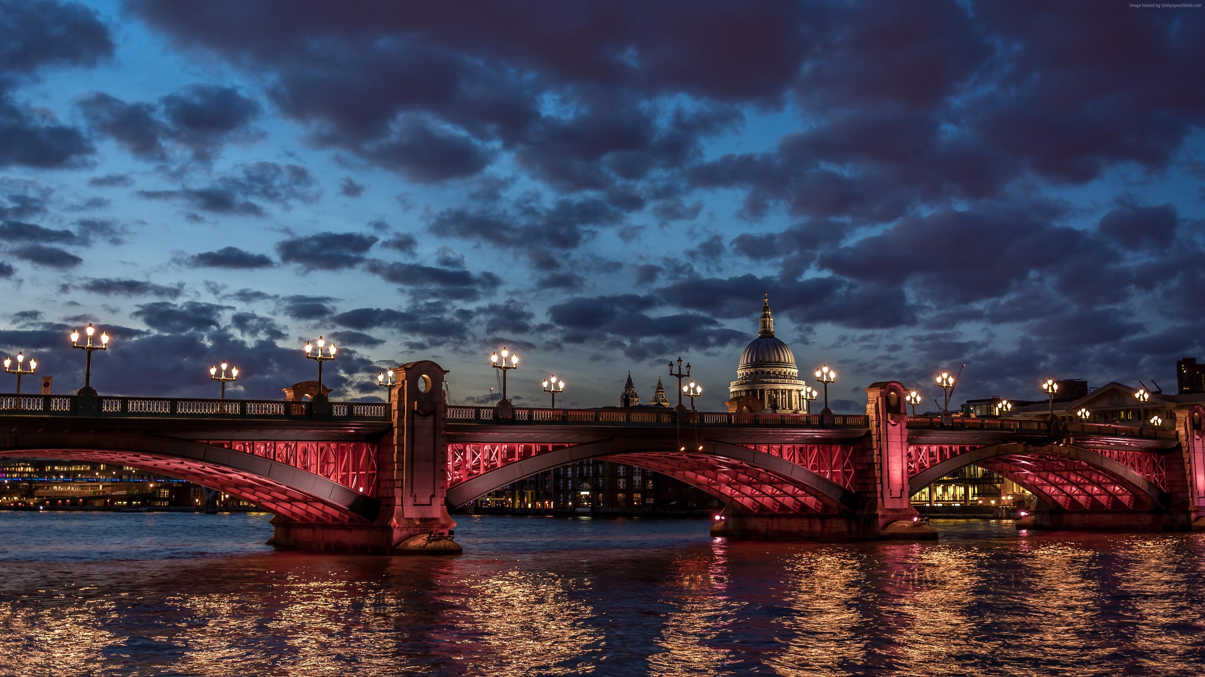 Обои dusk, at, london. Города foto 14