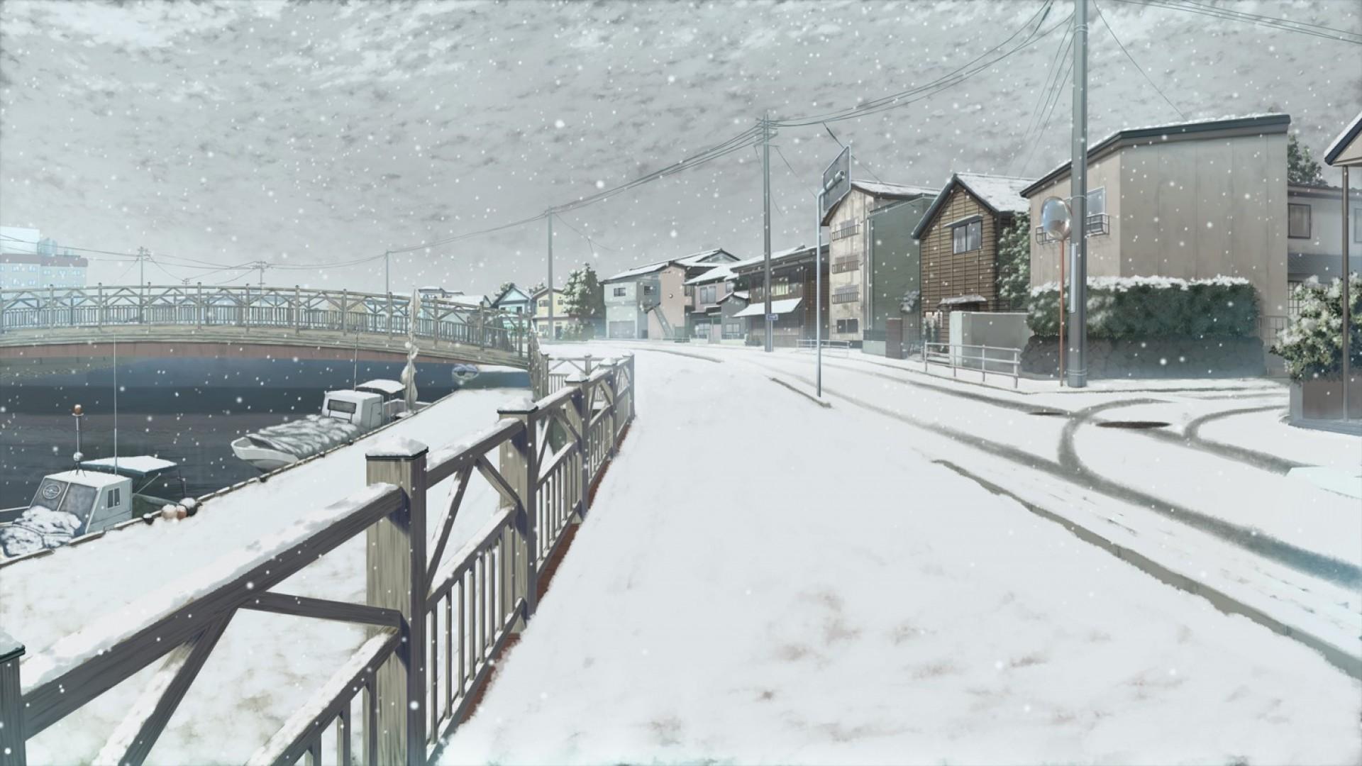 Ulica Ujedinjenja - Page 10 Landscape-boat-anime-snow-winter-bridge-river-harbor-Freezing-sailing-weather-season-blizzard-residential-area-geological-phenomenon-winter-storm-59539