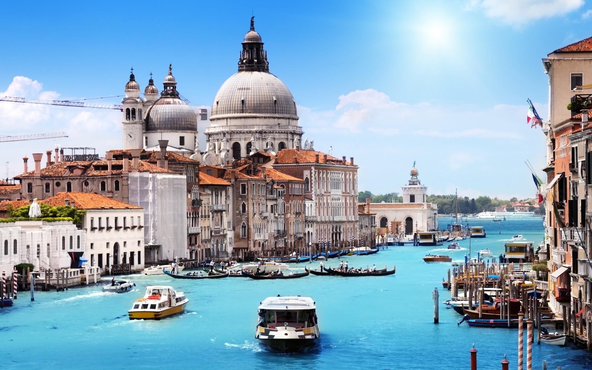 Wallpaper Landscape Boat Sea City Cityscape Italy