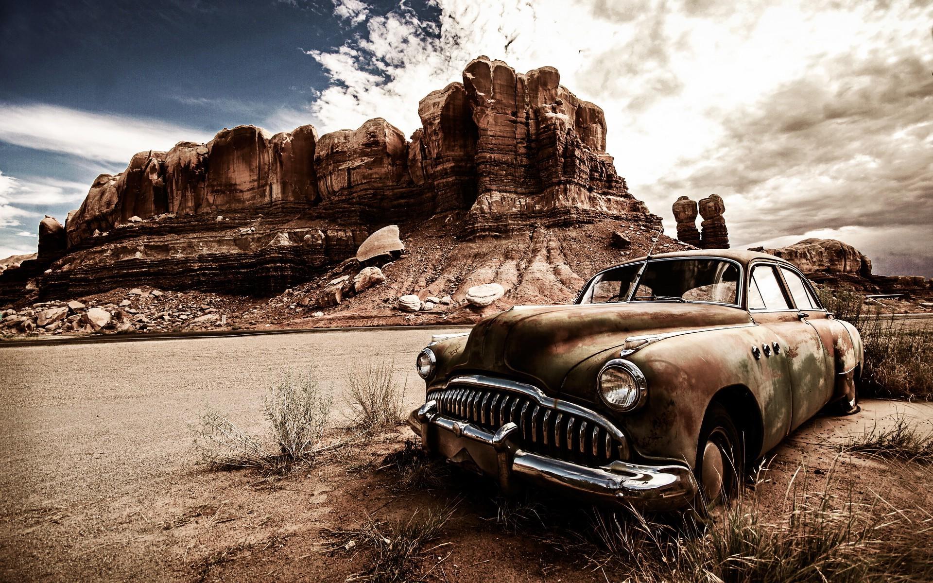 Wallpaper Landscape Vehicle Vintage Car North America