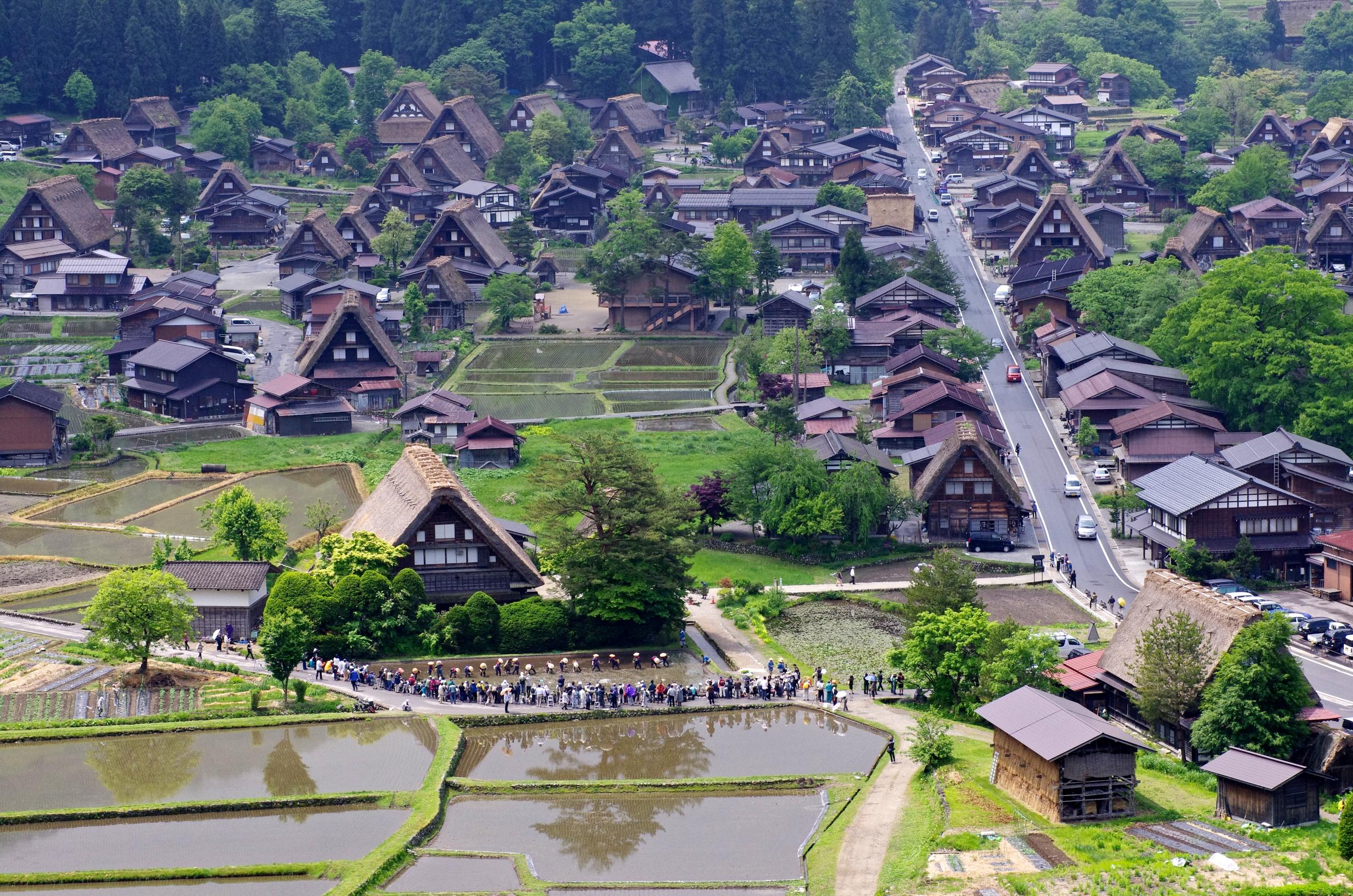 Fond d 39 cran paysage ville tourisme village vue for Paysage de ville