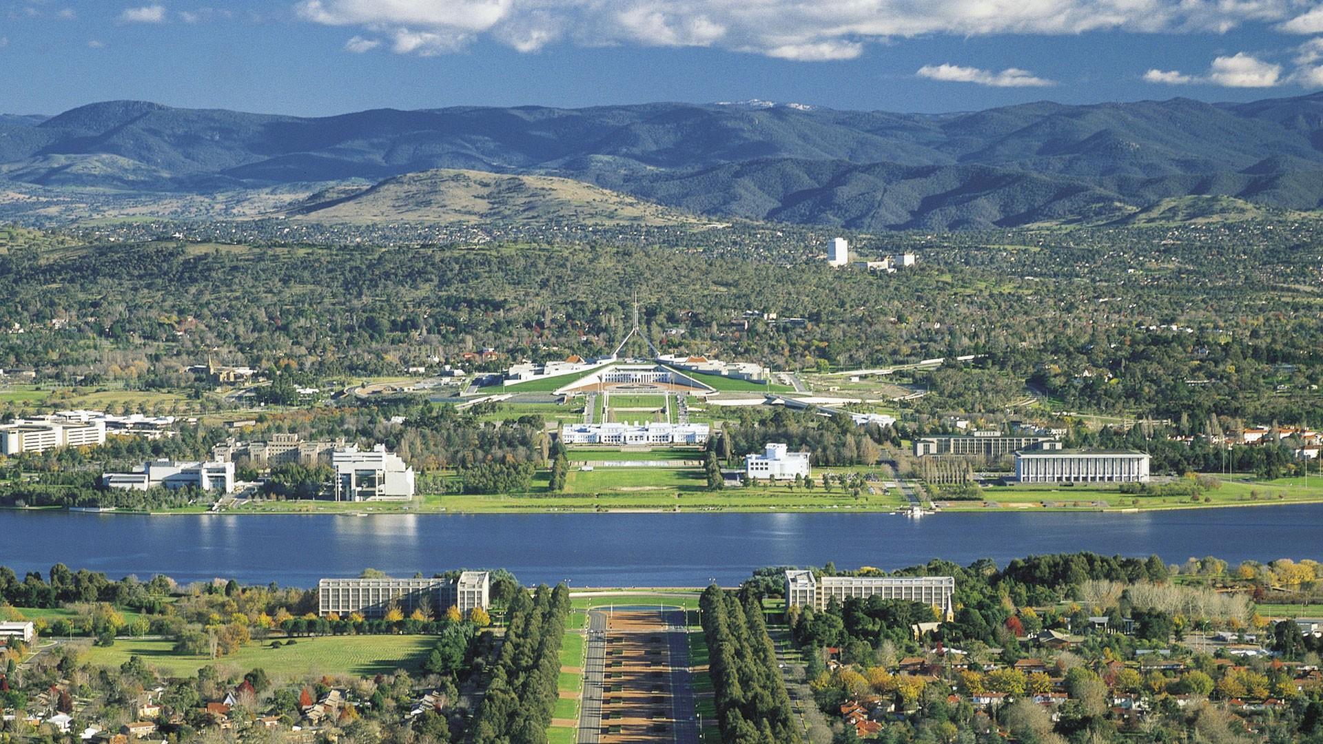 Столица австралии канберра фото