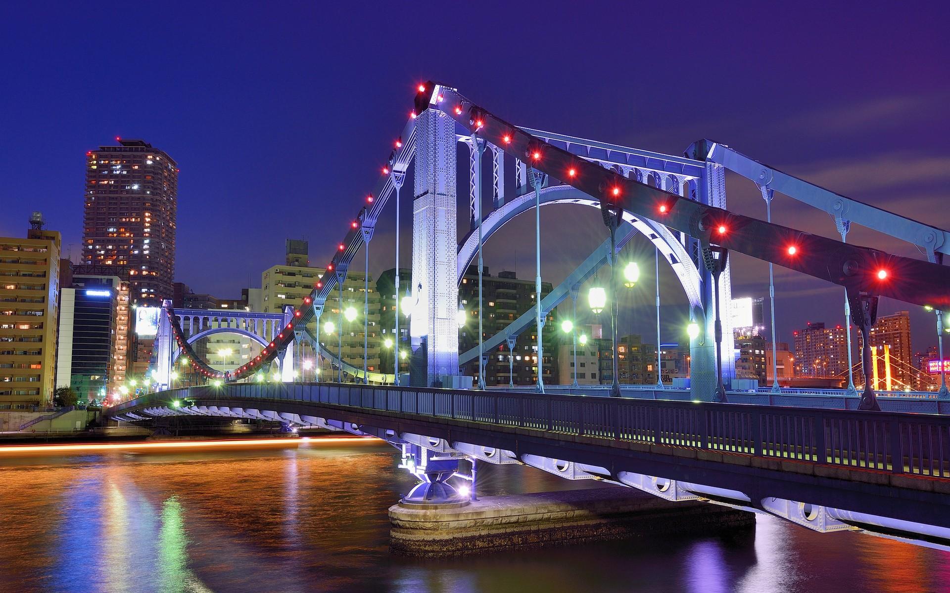 Картинка города мосты