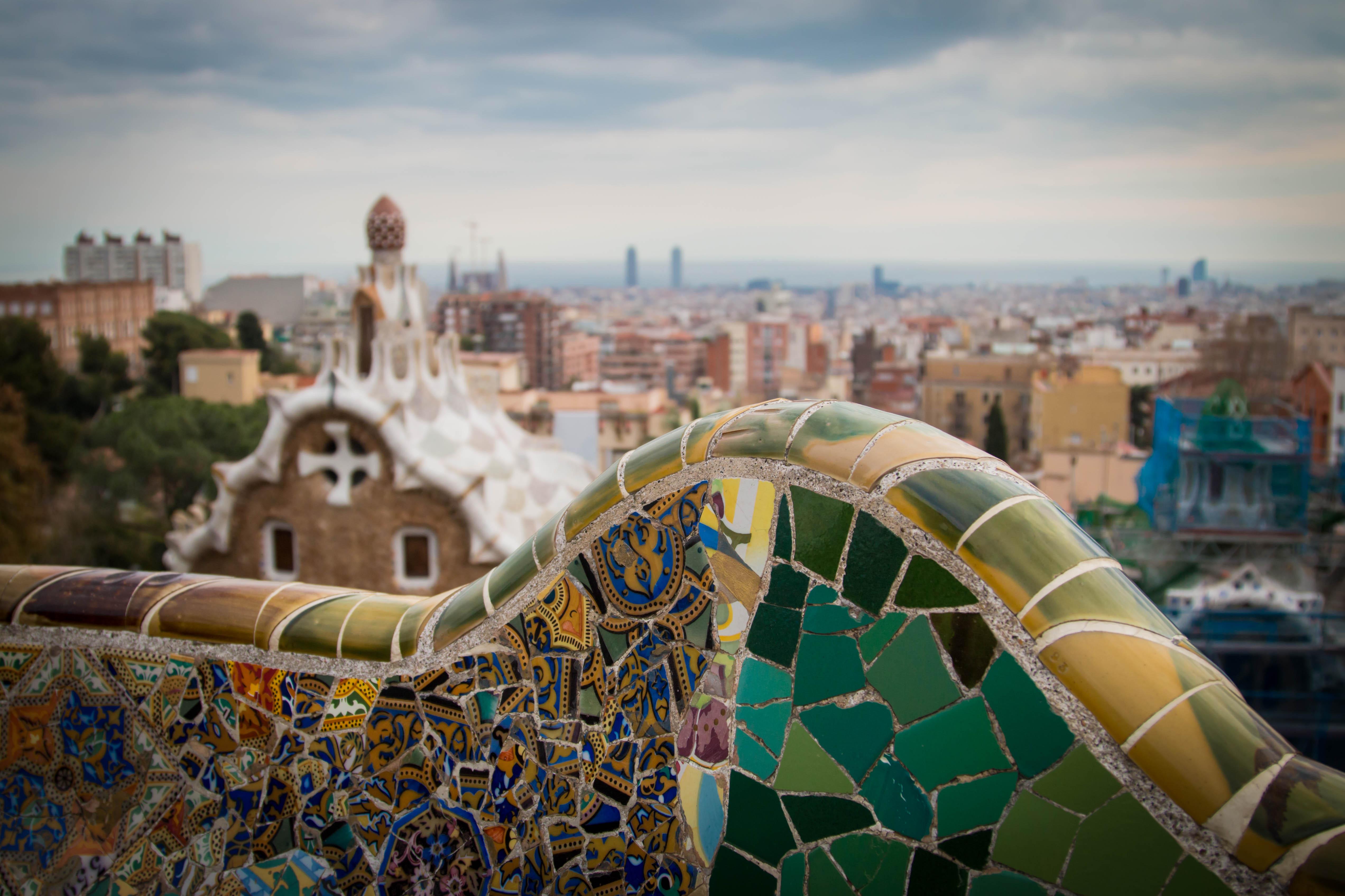 デスクトップ壁紙 風景 シティ 都市景観 スカイライン スペイン 世界 15年 バルセロナ アート 色 パークグエル ランドマーク カラー パサギ スパニャ 市街地 人間の決済 遊園地 50x3393 デスクトップ壁紙 Wallhere
