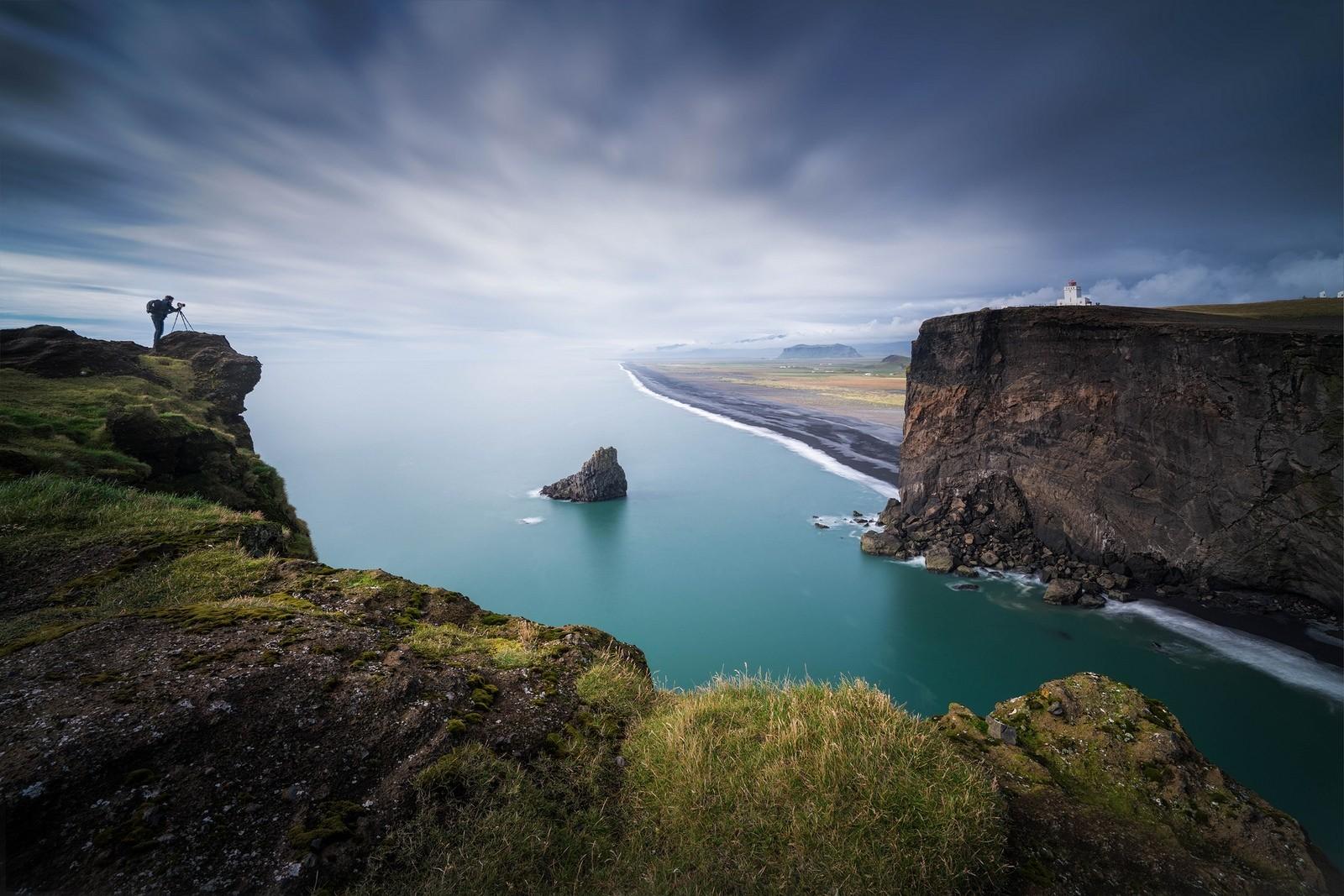 Wallpaper : landscape, dark, sea, bay, rock, nature, shore ...