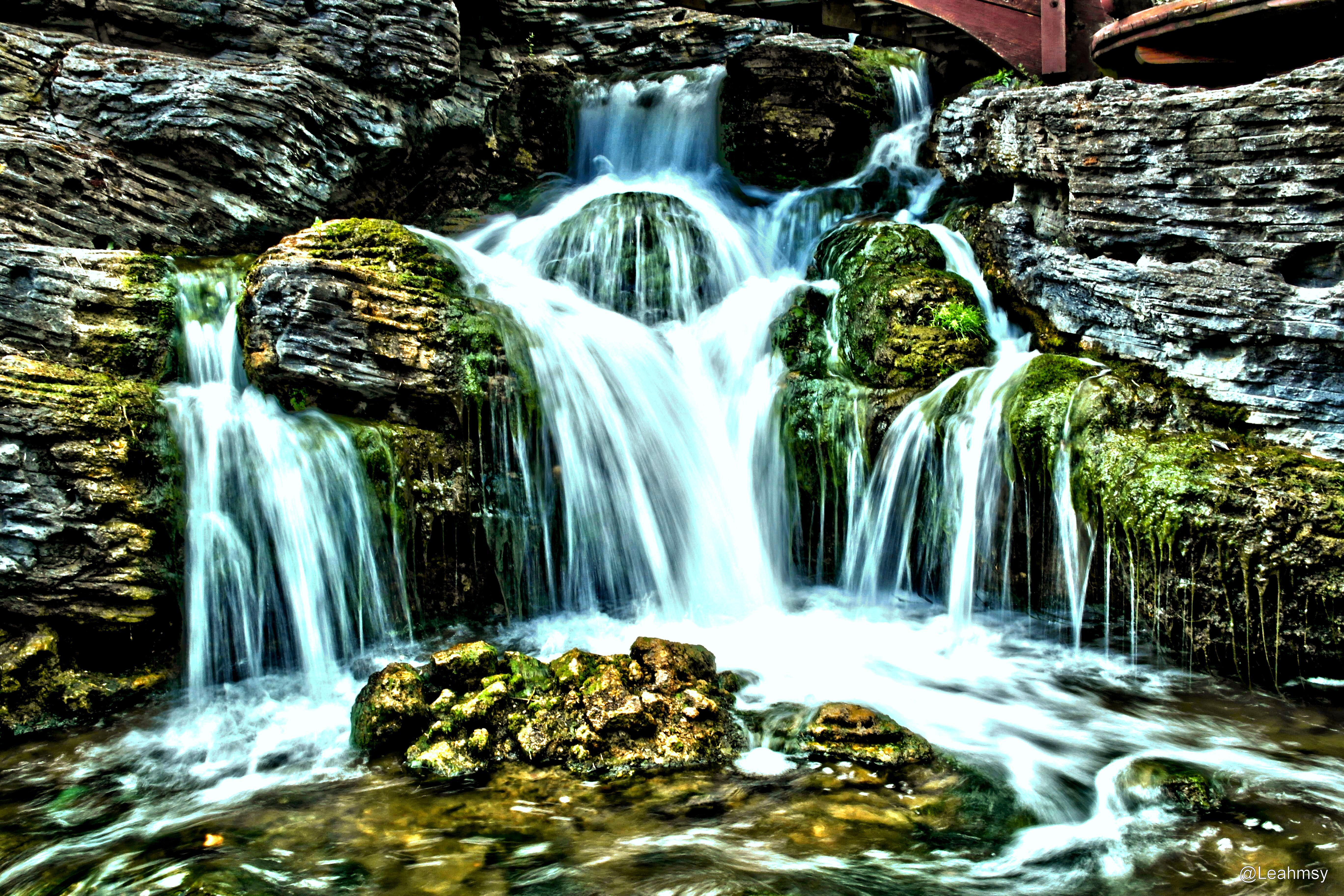 Wallpaper Landscape Fall Waterfall Samsung Hdr France