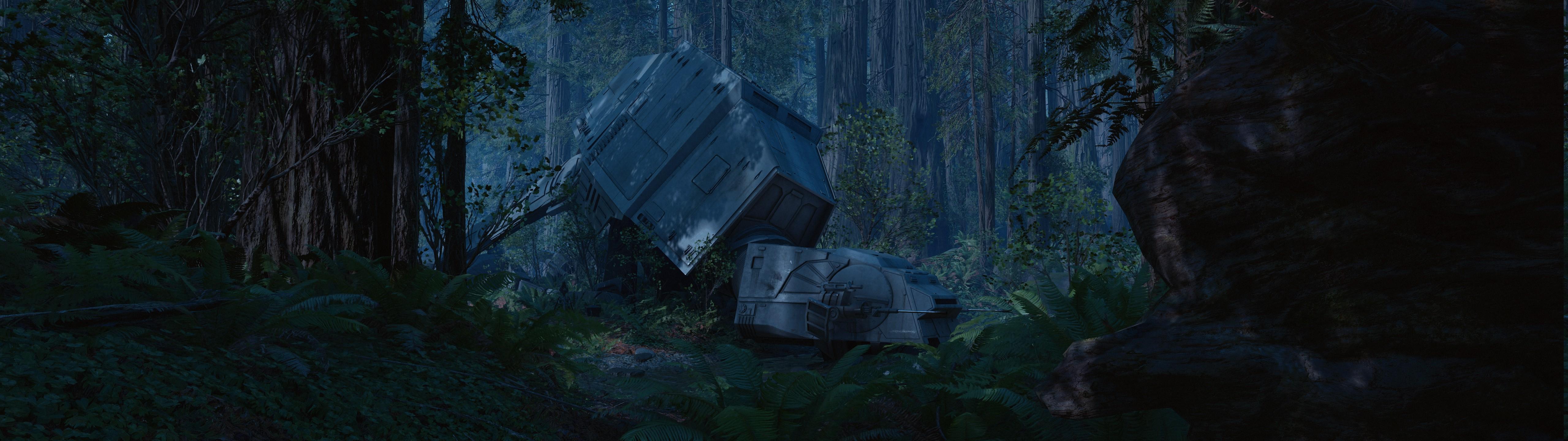 Wallpaper Landscape Star Wars Video Games Rock Grass Sky