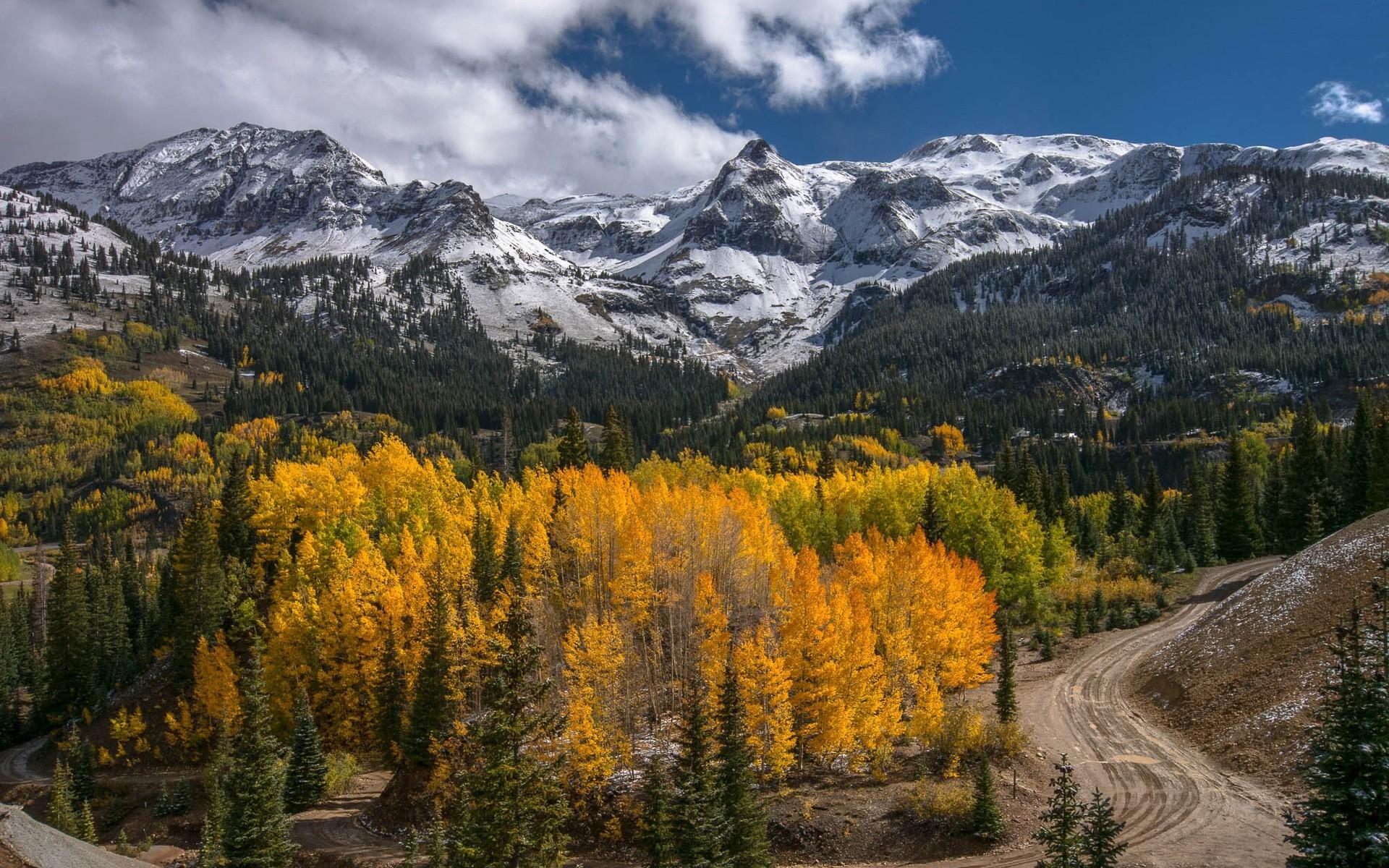фото картинки природа в горах осень роль